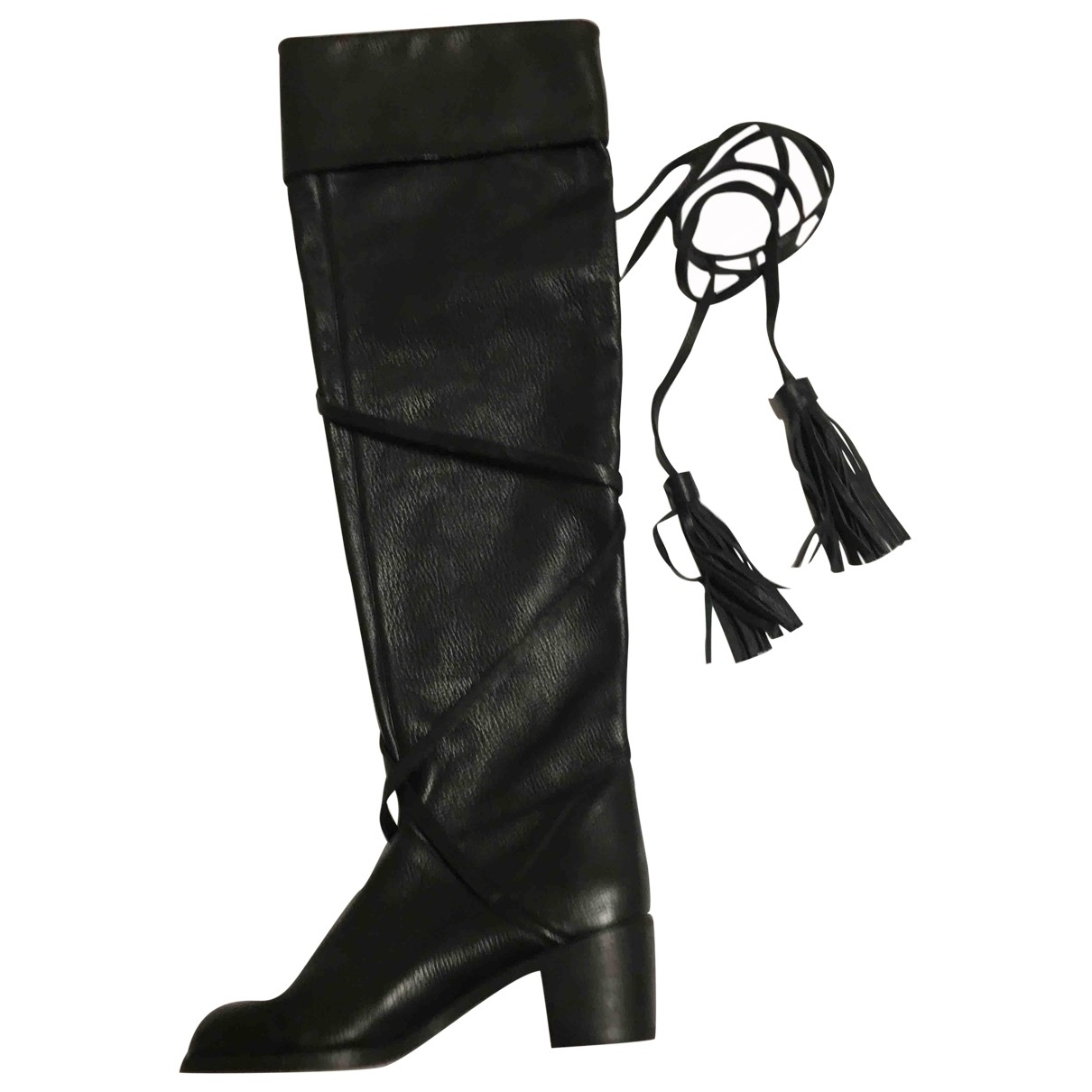See By Chloé \N Black Leather Boots for Women 40 EU