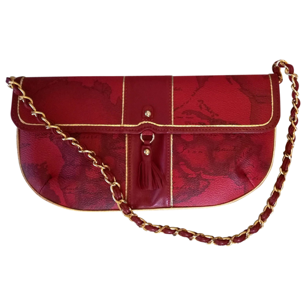 Autre Marque N Red Leather handbag for Women N