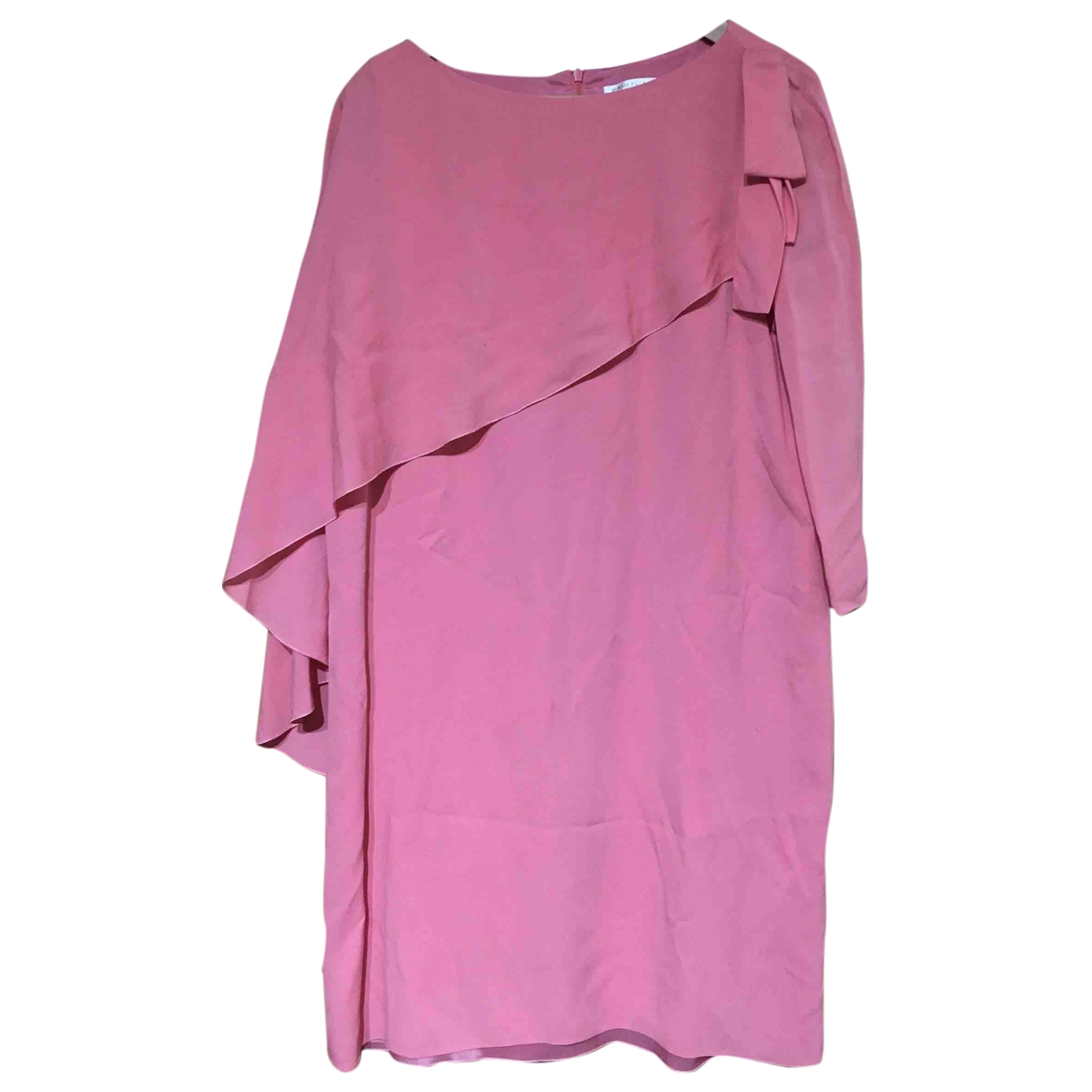Paule Ka \N Pink Silk dress for Women 42 FR