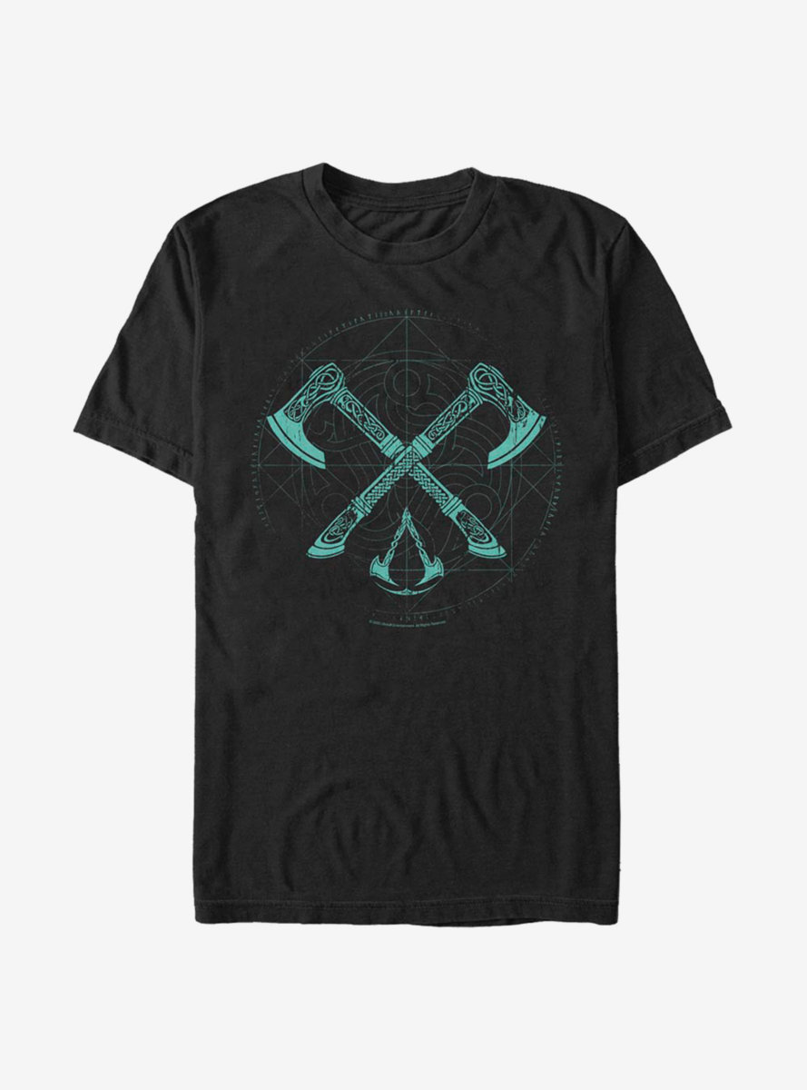 Assassin's Creed Valhalla Cross Axes Comp T-Shirt