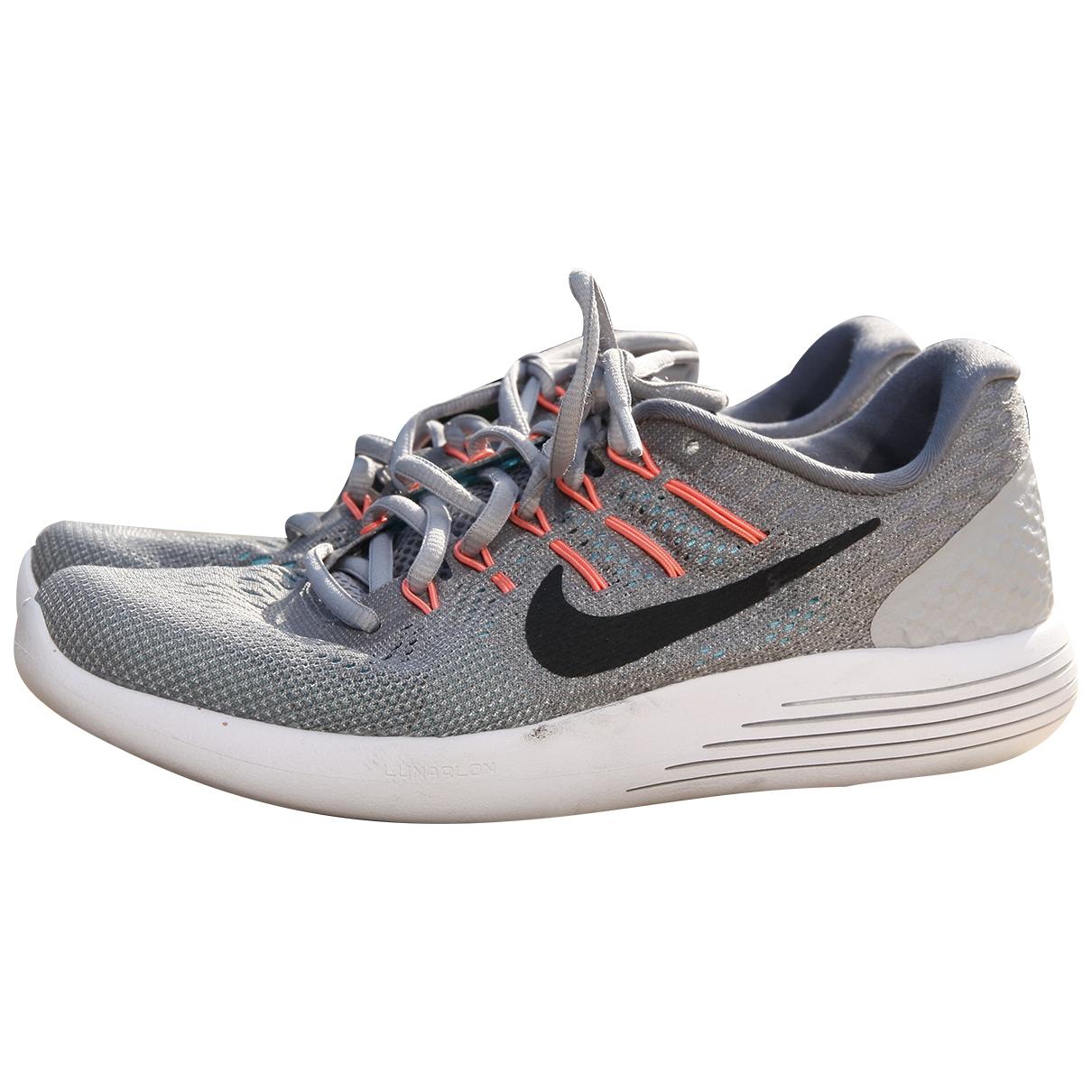 Nike - Baskets   pour femme - argente