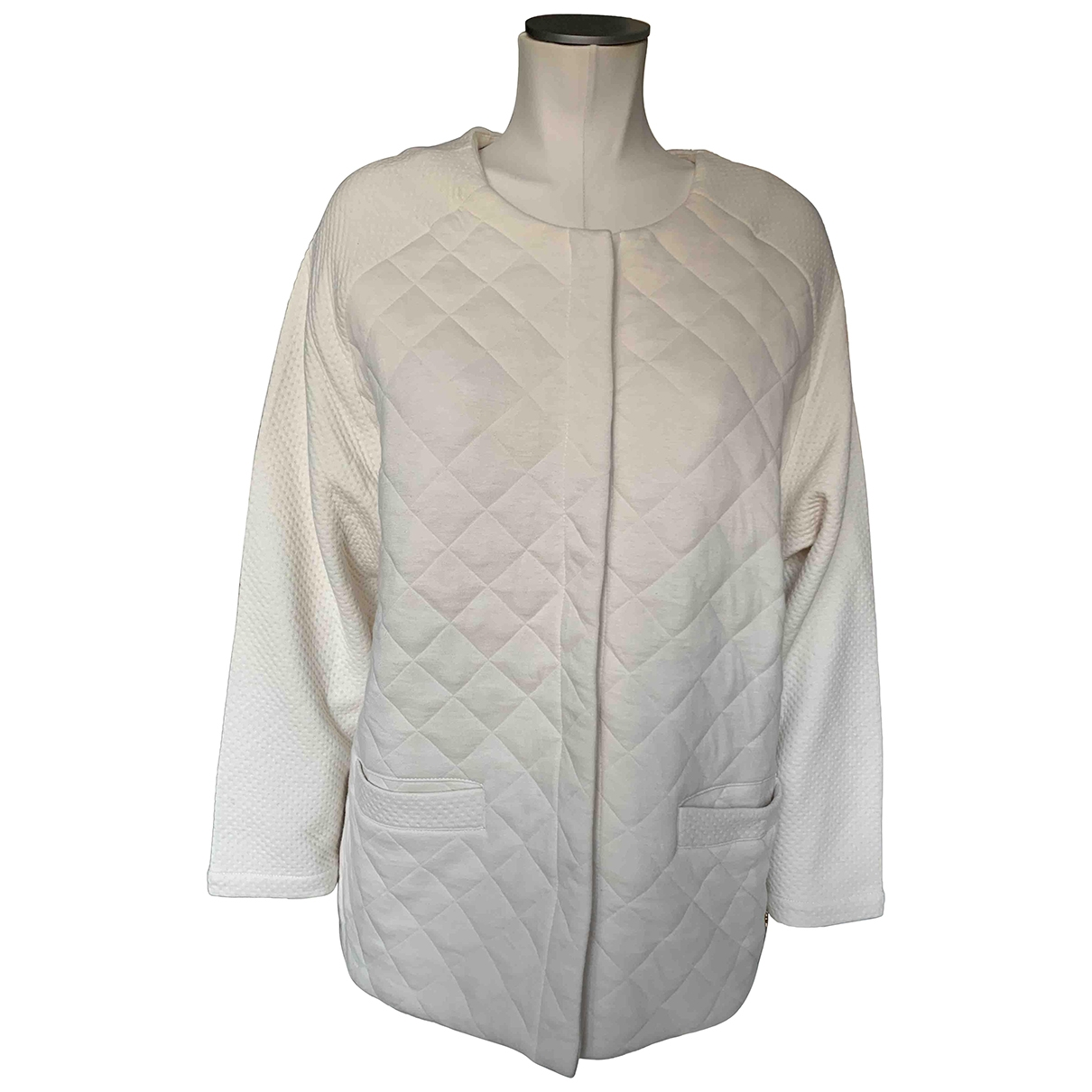 Des Petits Hauts \N Ecru Cotton jacket for Women 2 0-5