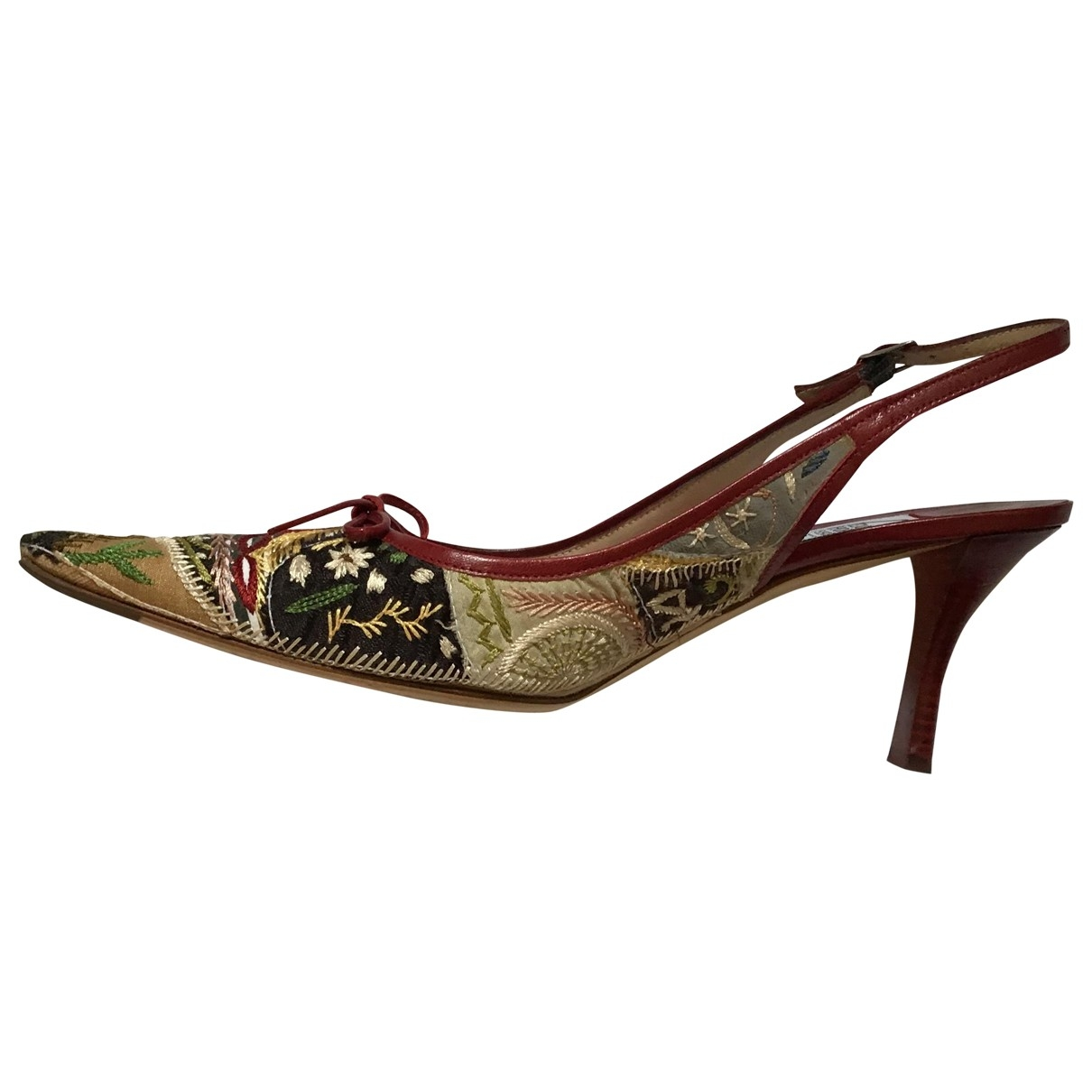 Emma Hope \N Multicolour Cloth Heels for Women 40.5 EU