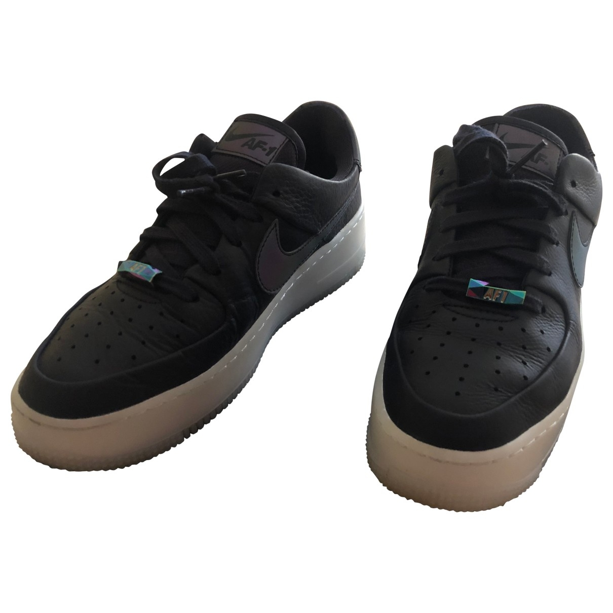 Nike - Baskets Air Force 1 pour femme en cuir
