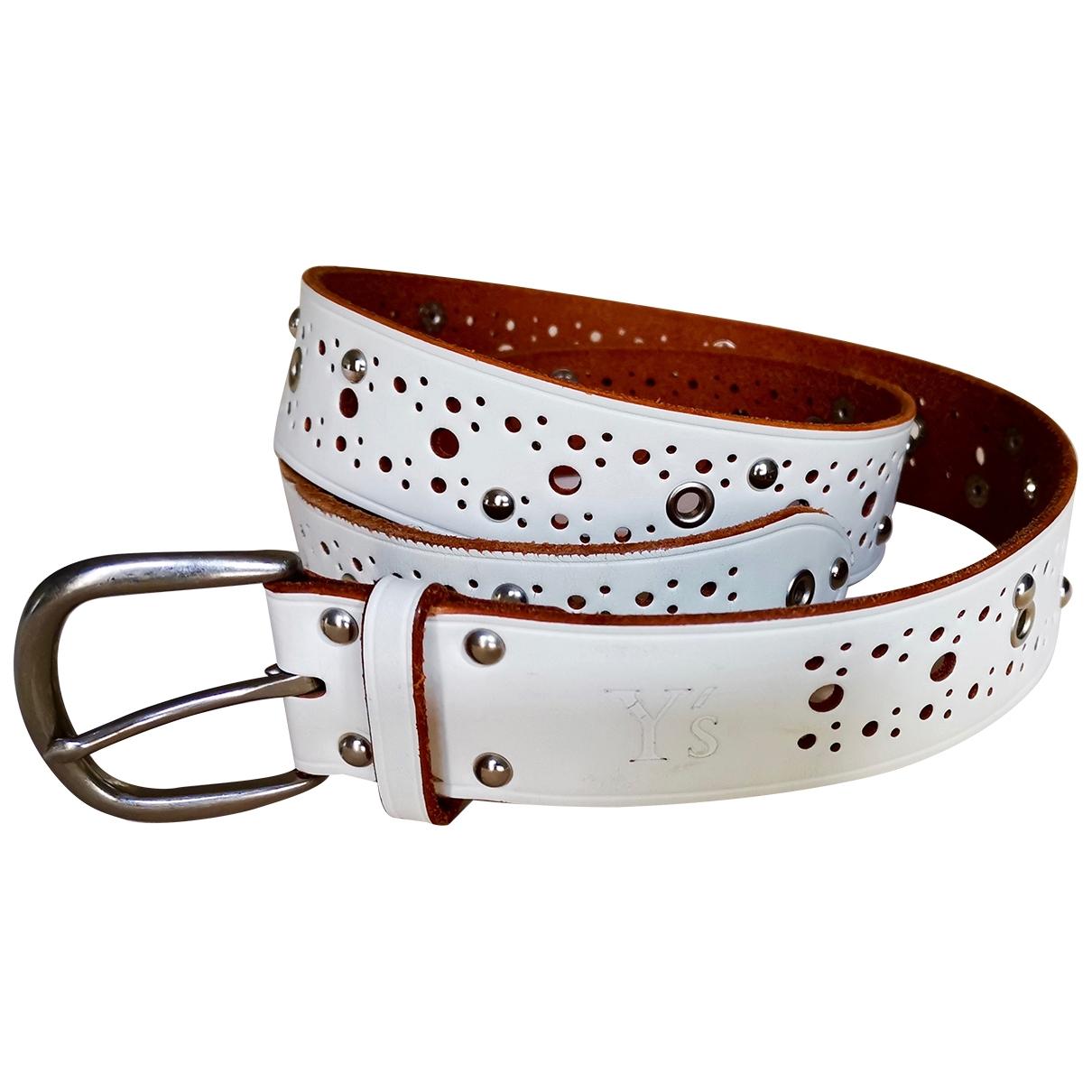 Cinturon de Cuero Yohji Yamamoto