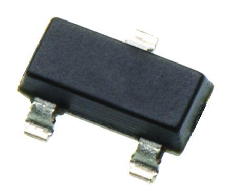 DiodesZetex Diodes Inc AZ431LANTR-G1, Adjustable Shunt Voltage Reference 1.24V, ±0.5 % 3-Pin, SOT-23 (50)