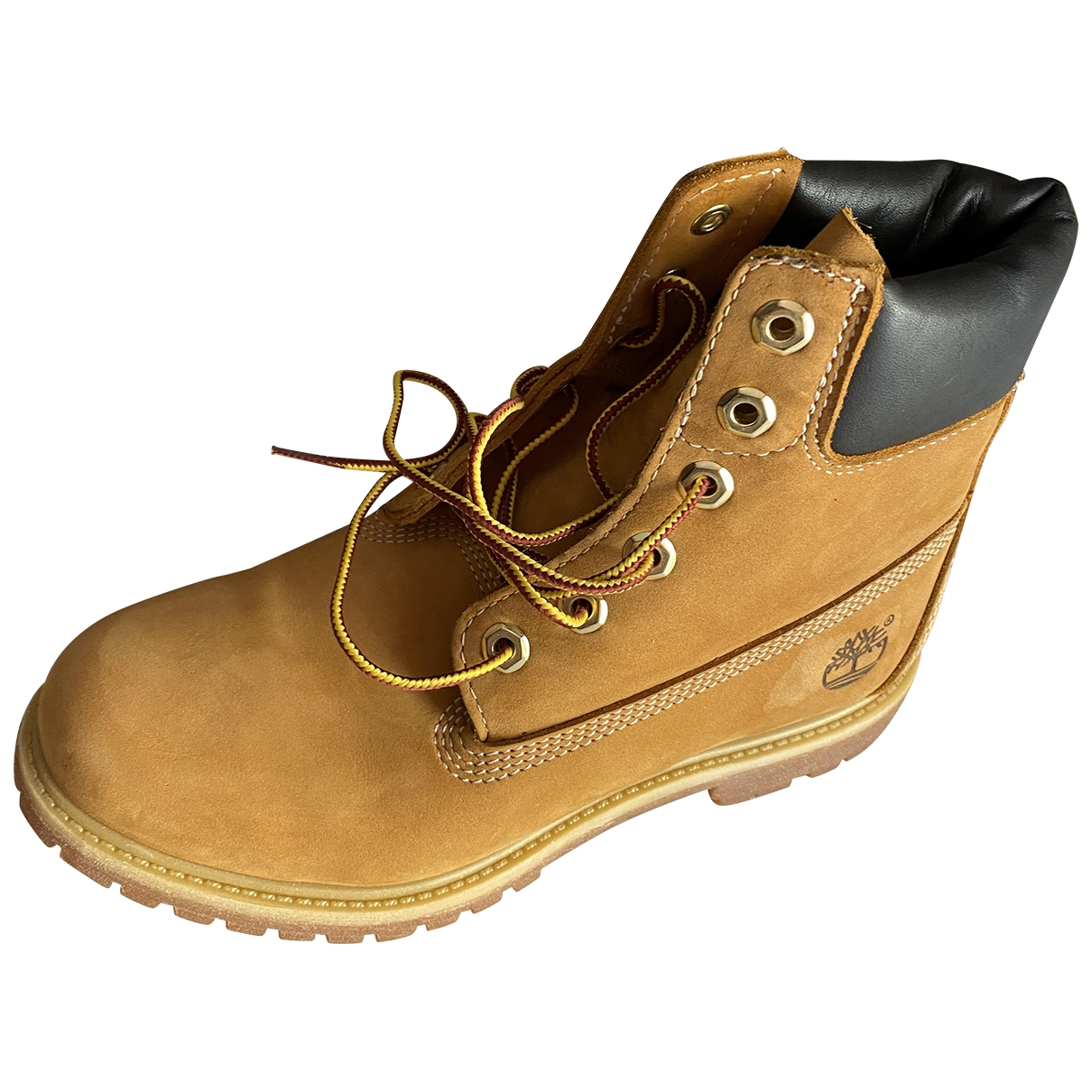 Timberland \N Beige Leather Ankle boots for Women 7.5 US