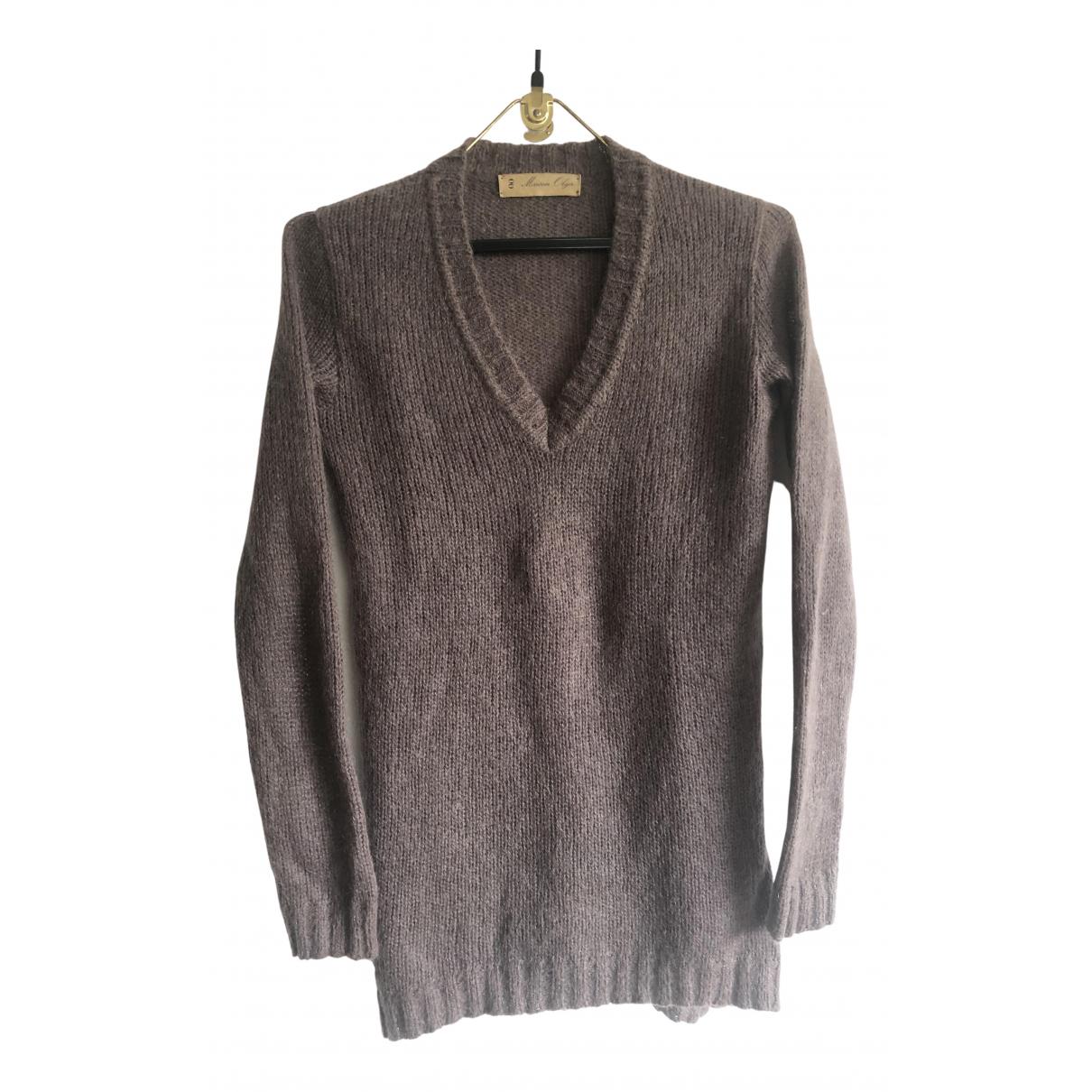Maison Olga - Pull   pour femme en laine - gris