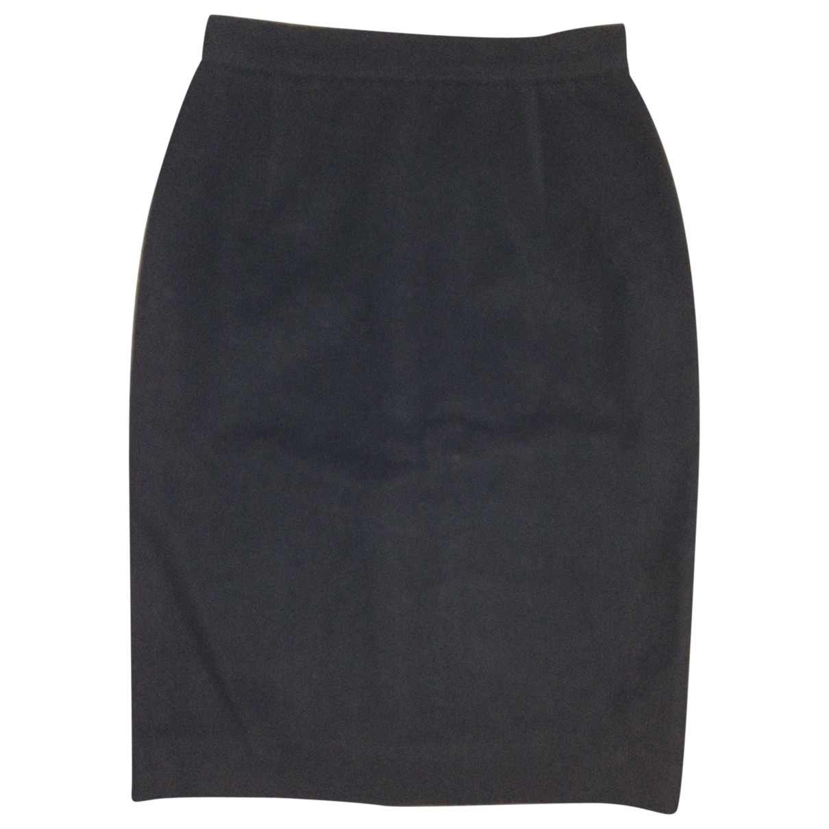 Courrèges \N Black Cashmere skirt for Women 0 0-5