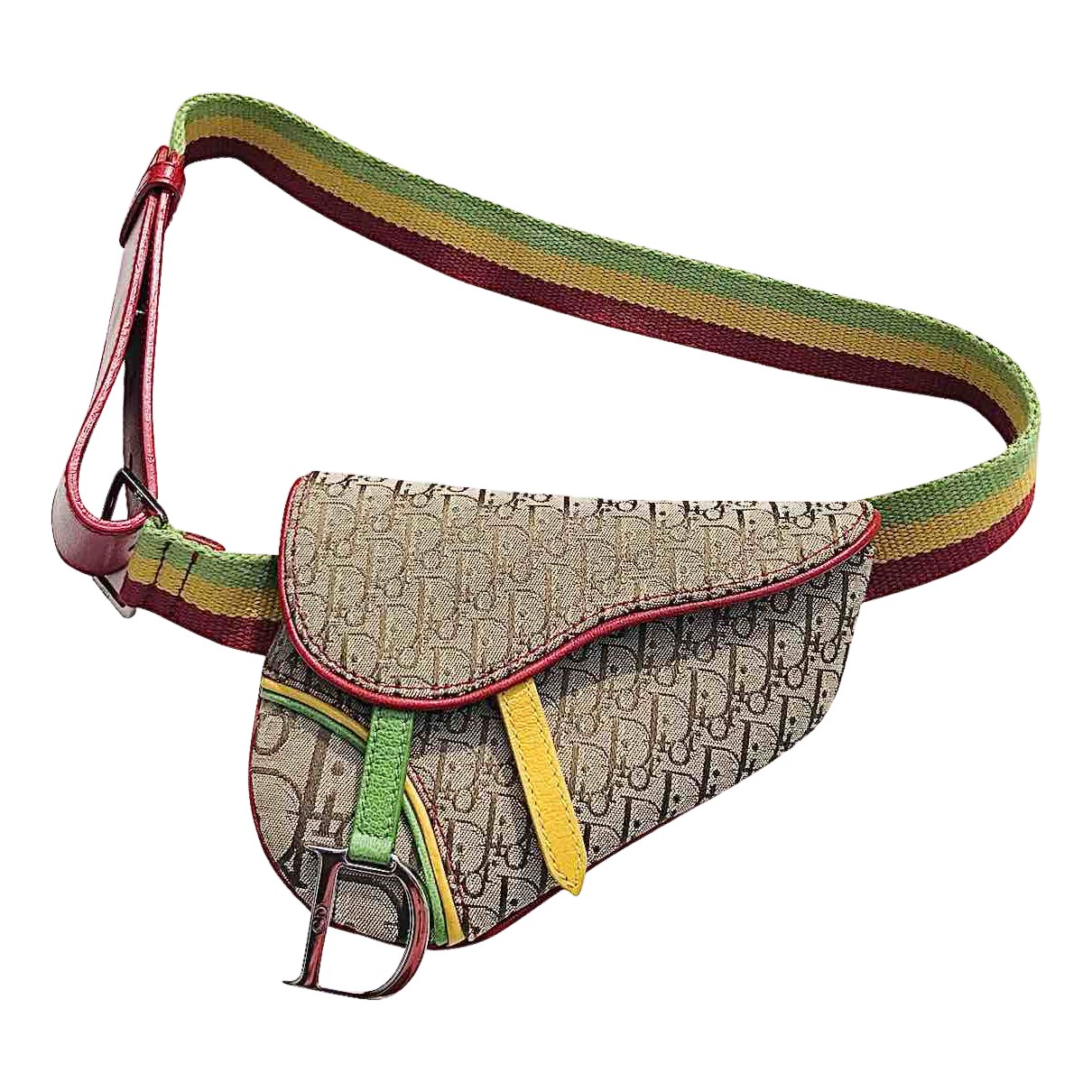 Dior Saddle Multicolour Cloth handbag for Women N