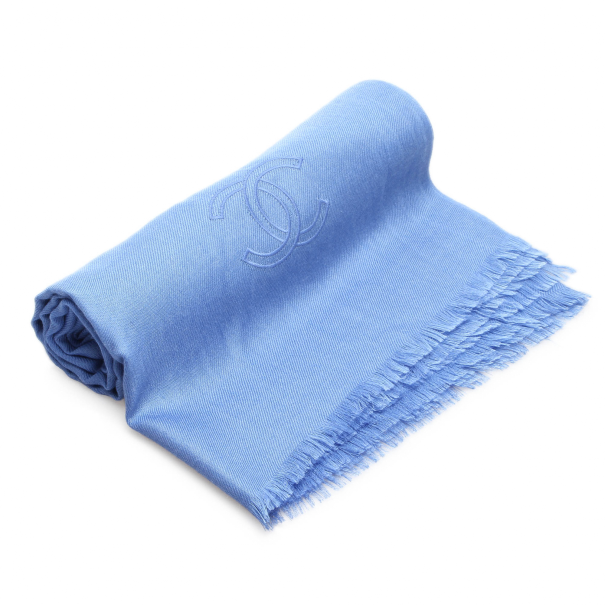 Chanel \N Blue scarf for Women \N