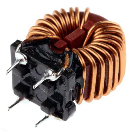 Wurth Elektronik Wurth 1 mH ±30% Leaded Inductor, 6A Idc, 13mΩ Rdc, WE-CMB