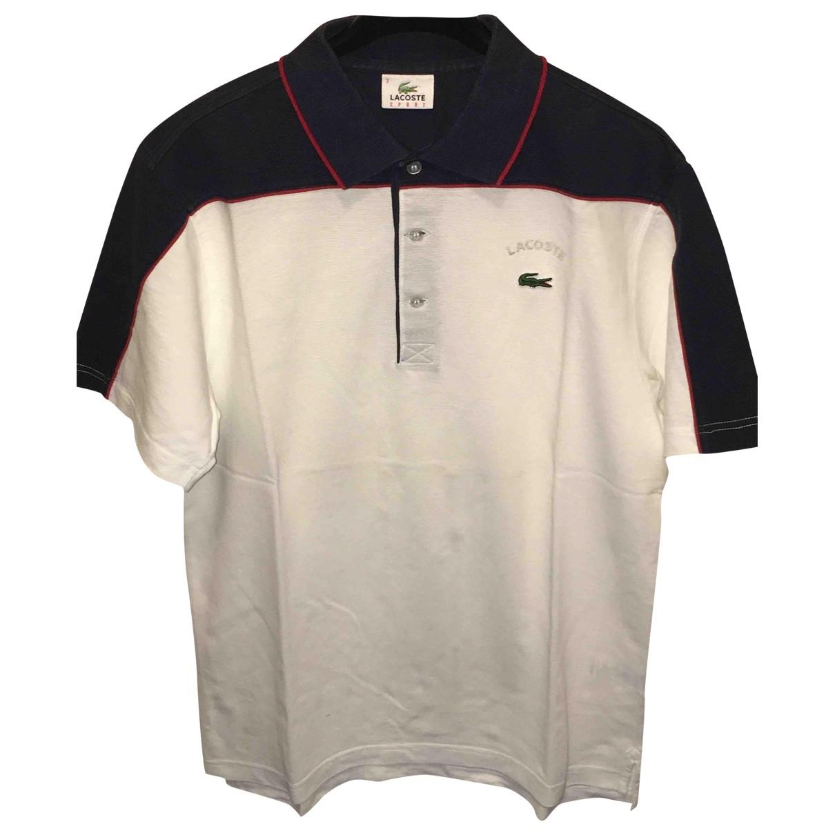 Lacoste \N White Cotton Polo shirts for Men S International