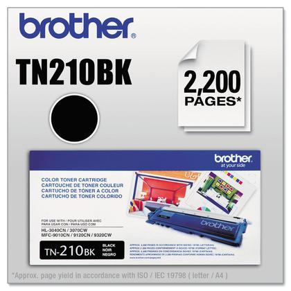 Brother TN210 Original Black Toner Cartridge (TN210BK)