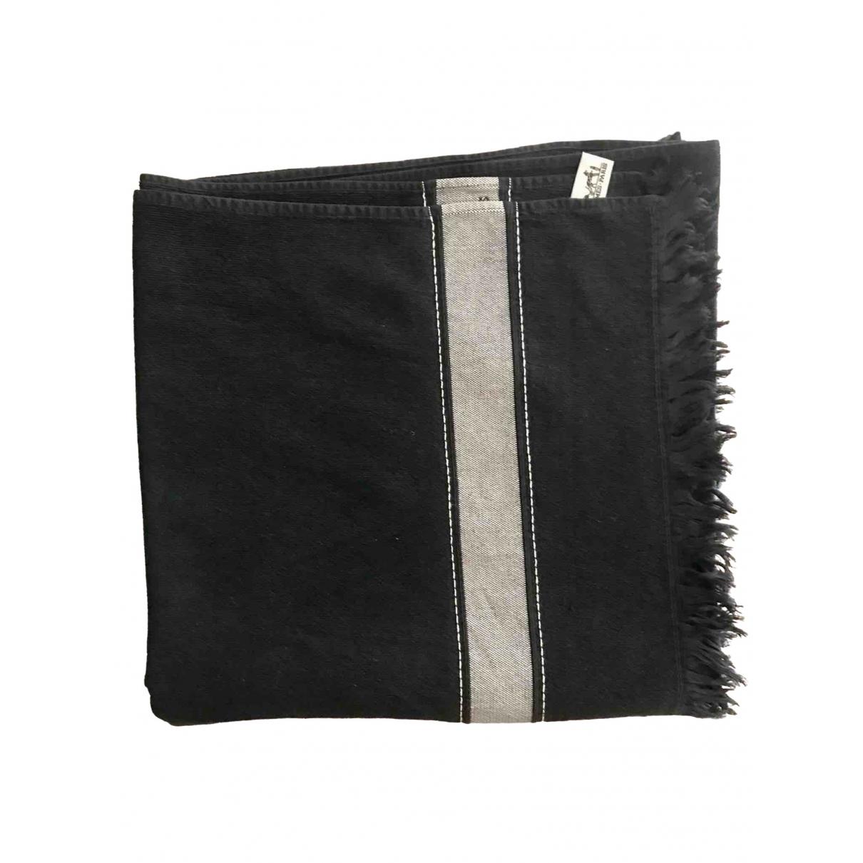 Hermes - Linge de maison   pour lifestyle en coton - noir