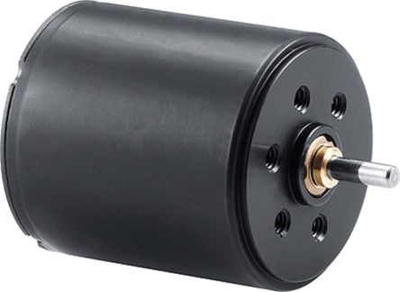 Faulhaber Brushed DC Motor, 4.05 W, 12 V dc, 6.7 mNm, 4390 rpm, 2mm Shaft Diameter