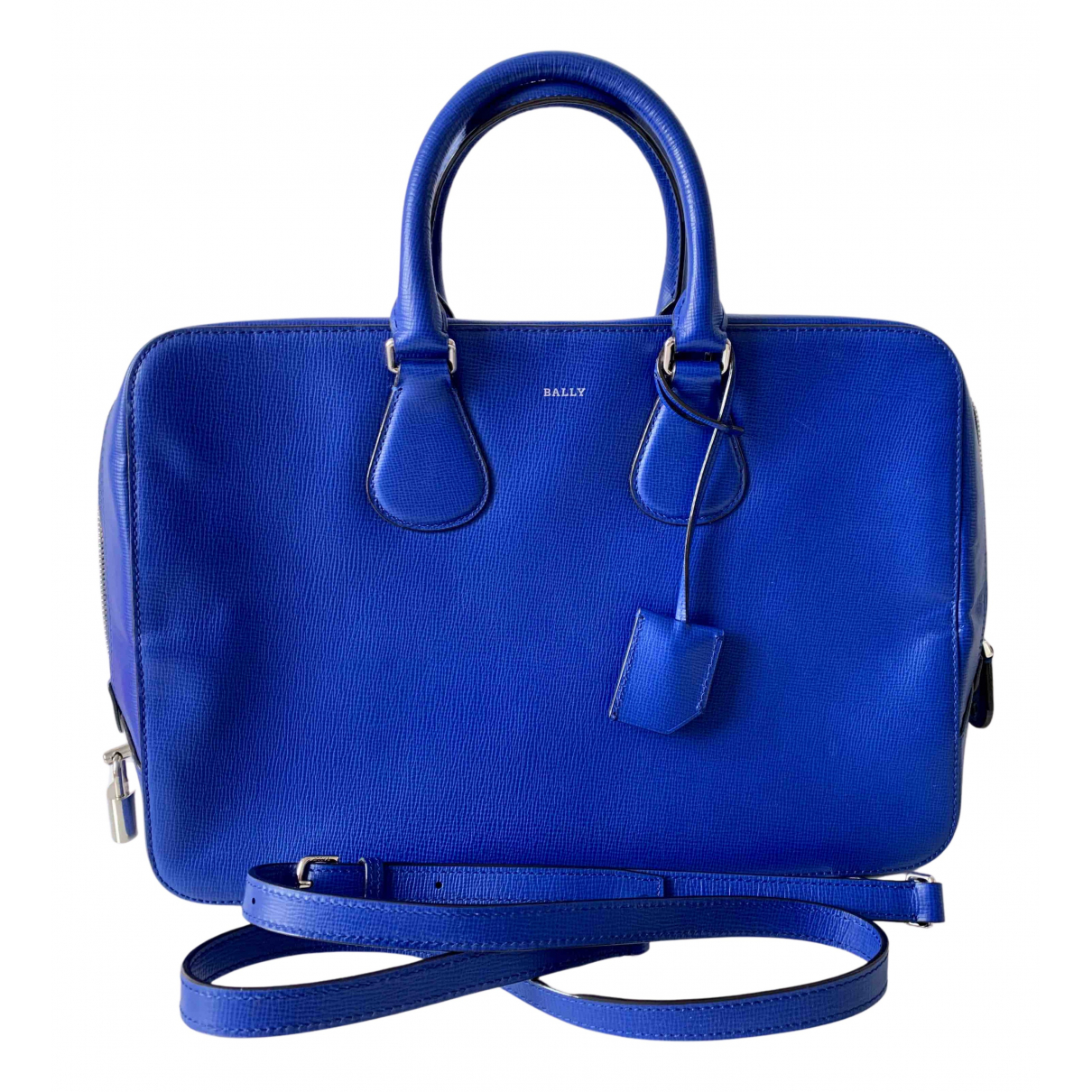 Bally N Blue Leather handbag for Women N
