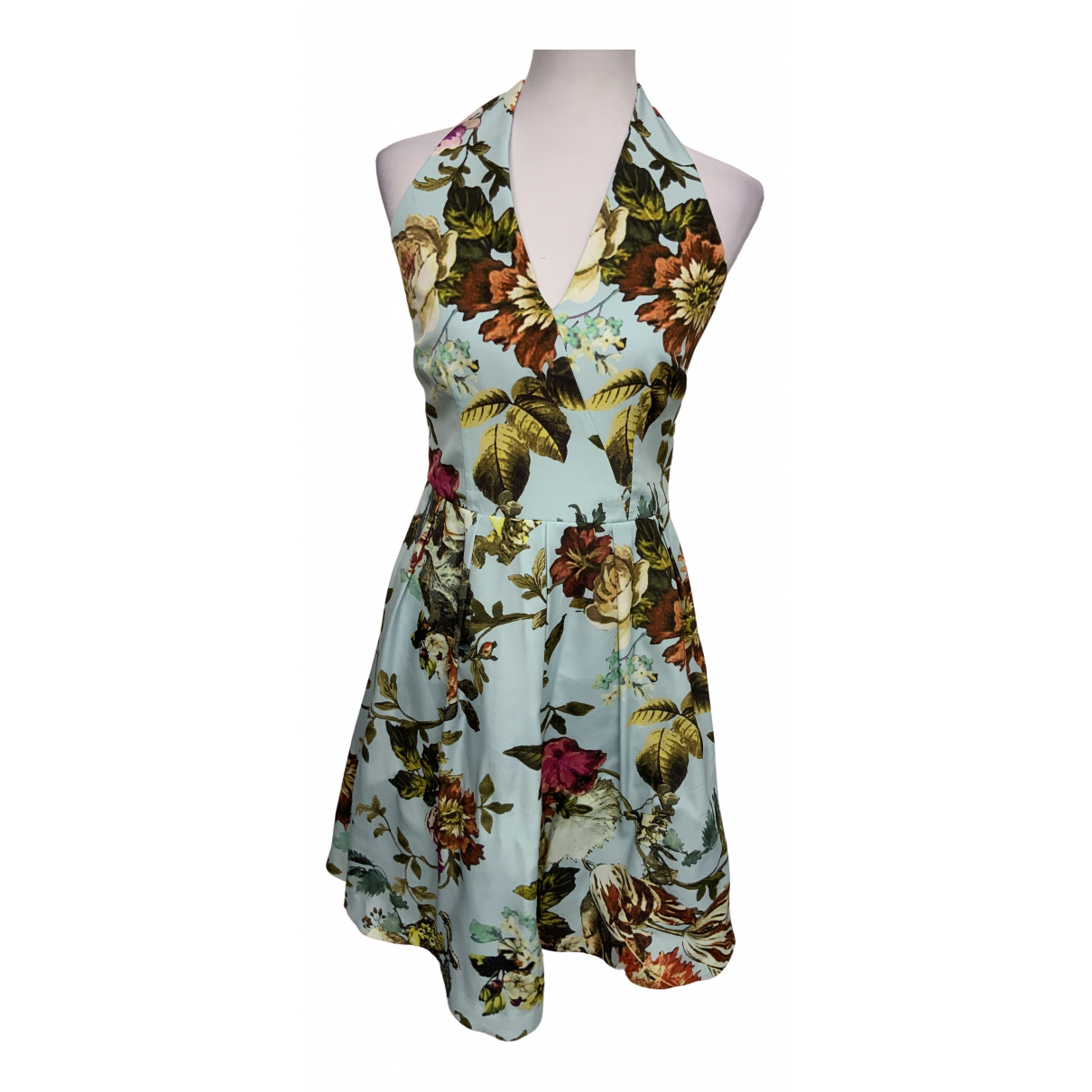 Ted Baker - Robe   pour femme - turquoise