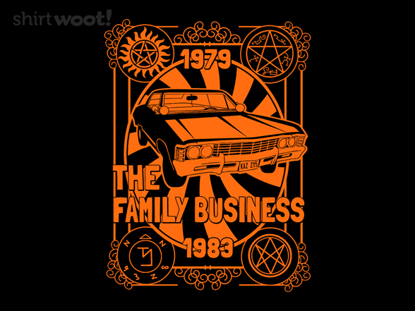 The Family Business Tour T Shirt