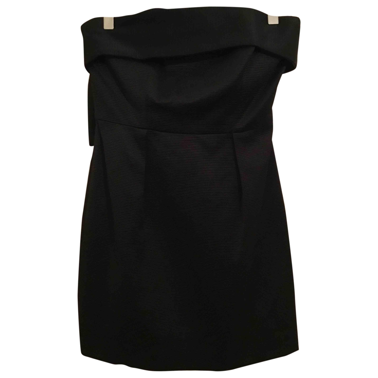 Lk Bennett \N Black Cotton - elasthane dress for Women 36 FR