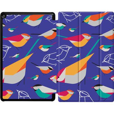Amazon Fire HD 10 (2018) Tablet Smart Case - Birds Talk von Susana Paz