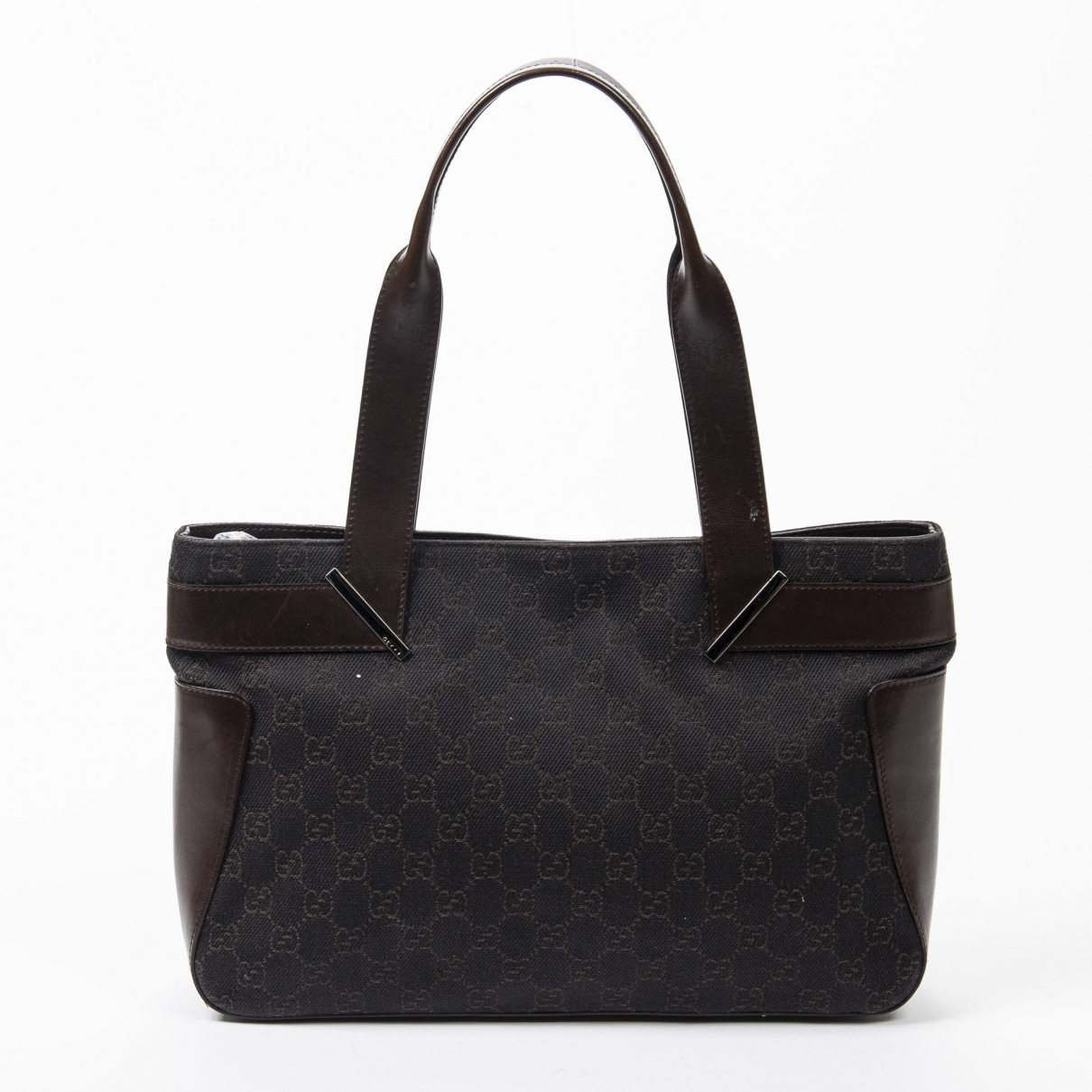 Gucci \N Brown Denim - Jeans handbag for Women \N