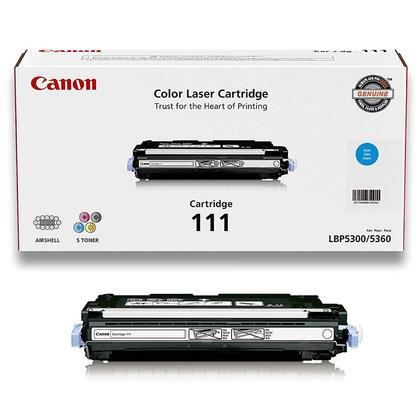 Canon 111C 1659B008 1659B001AA Original Cyan Toner Cartridge