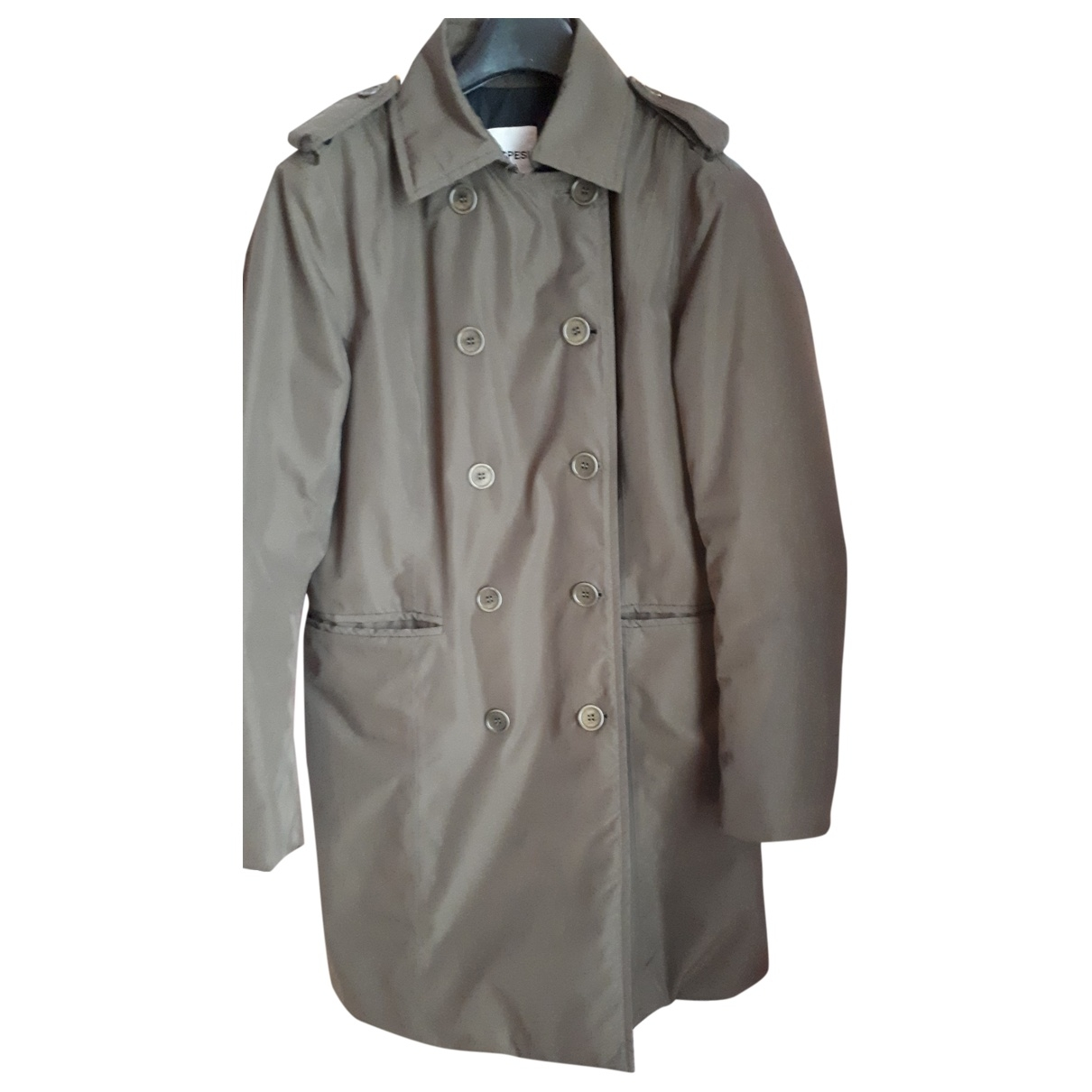 Aspesi - Manteau   pour femme - kaki