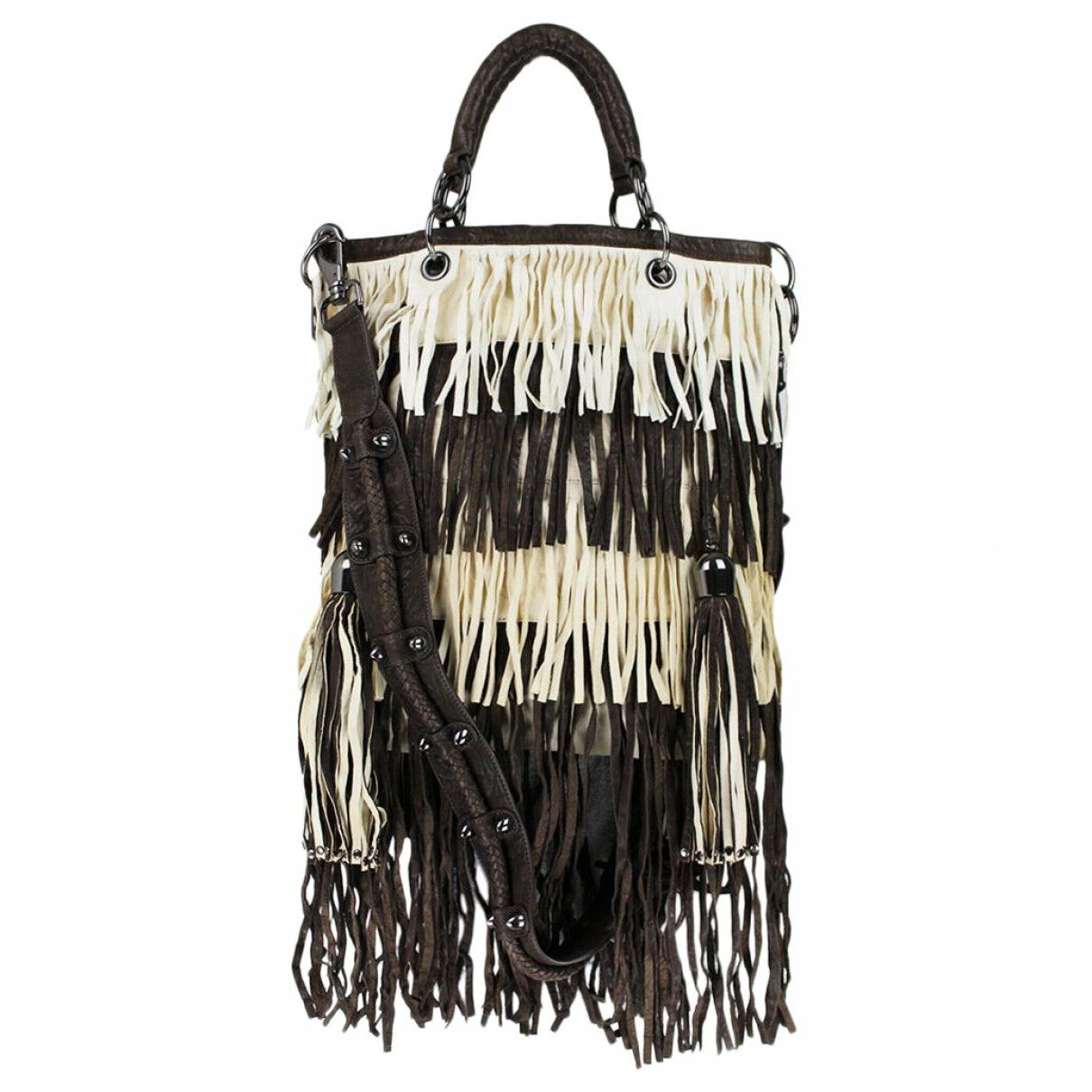 Thomas Wylde \N Beige Leather handbag for Women \N