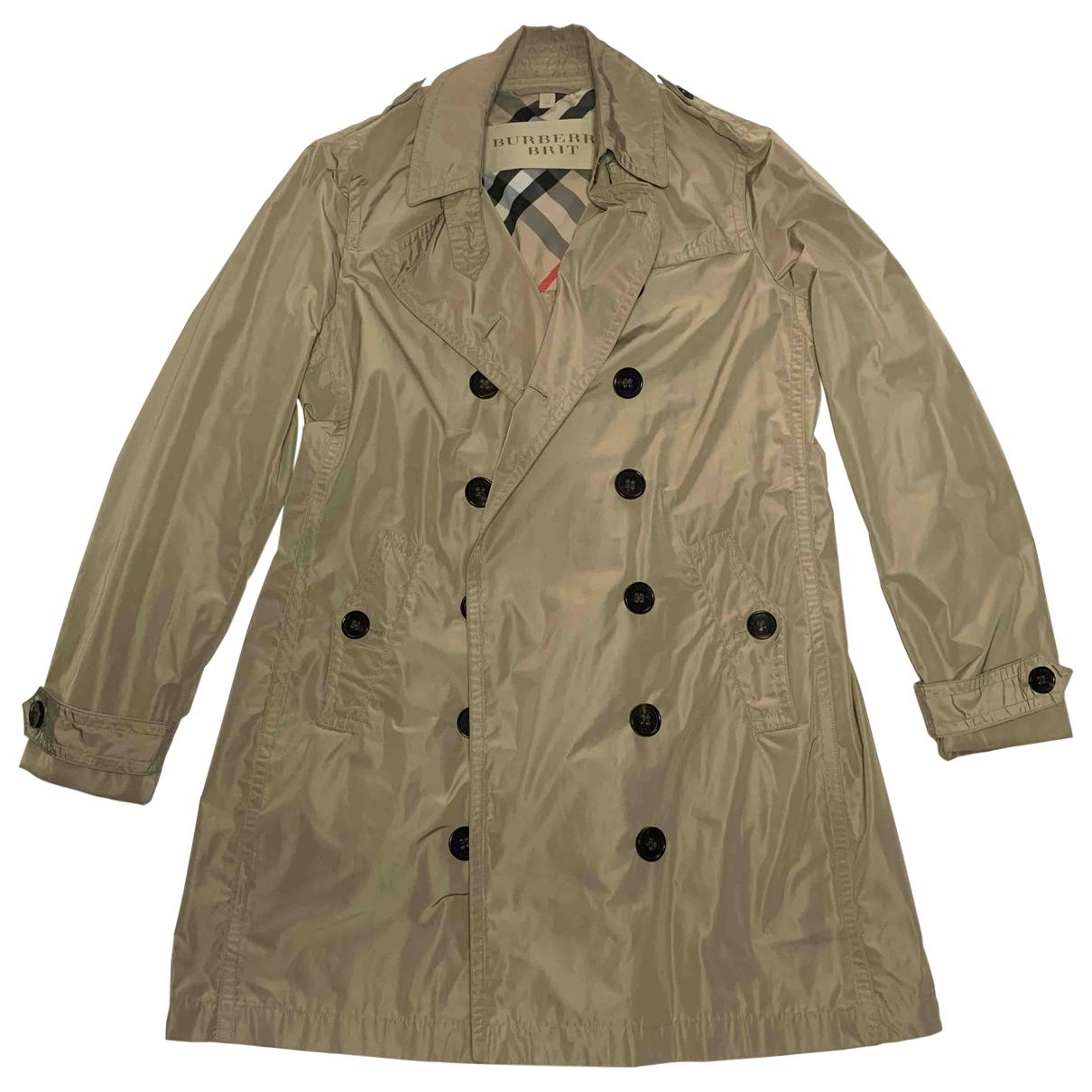 Burberry \N Beige Trench coat for Women 44 IT