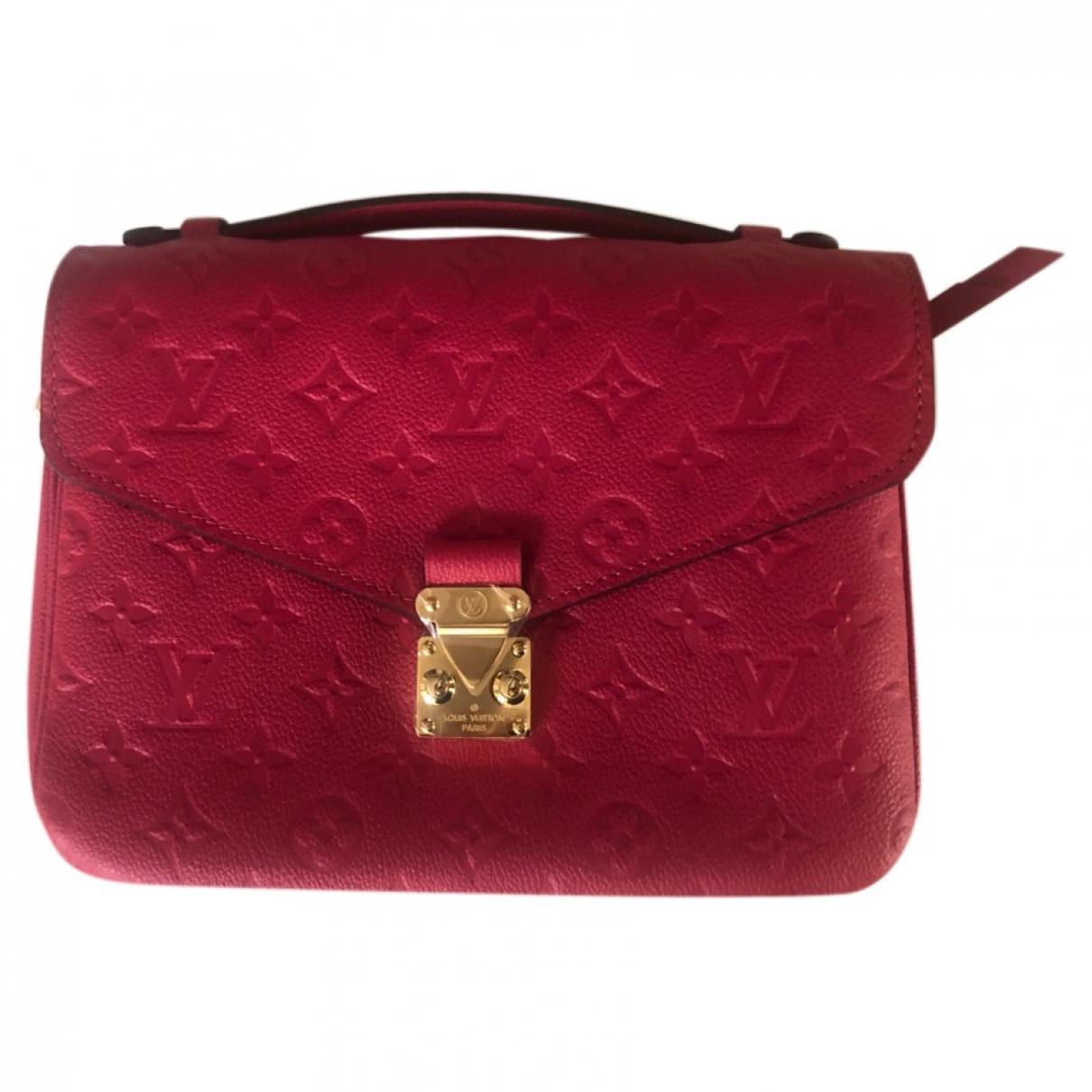 Louis Vuitton Metis Pink Cloth handbag for Women \N