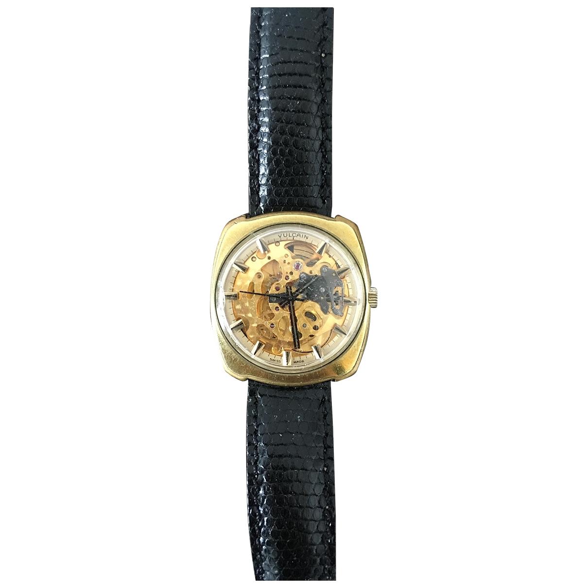 Vulcain \N Uhr in  Gold Vergoldet