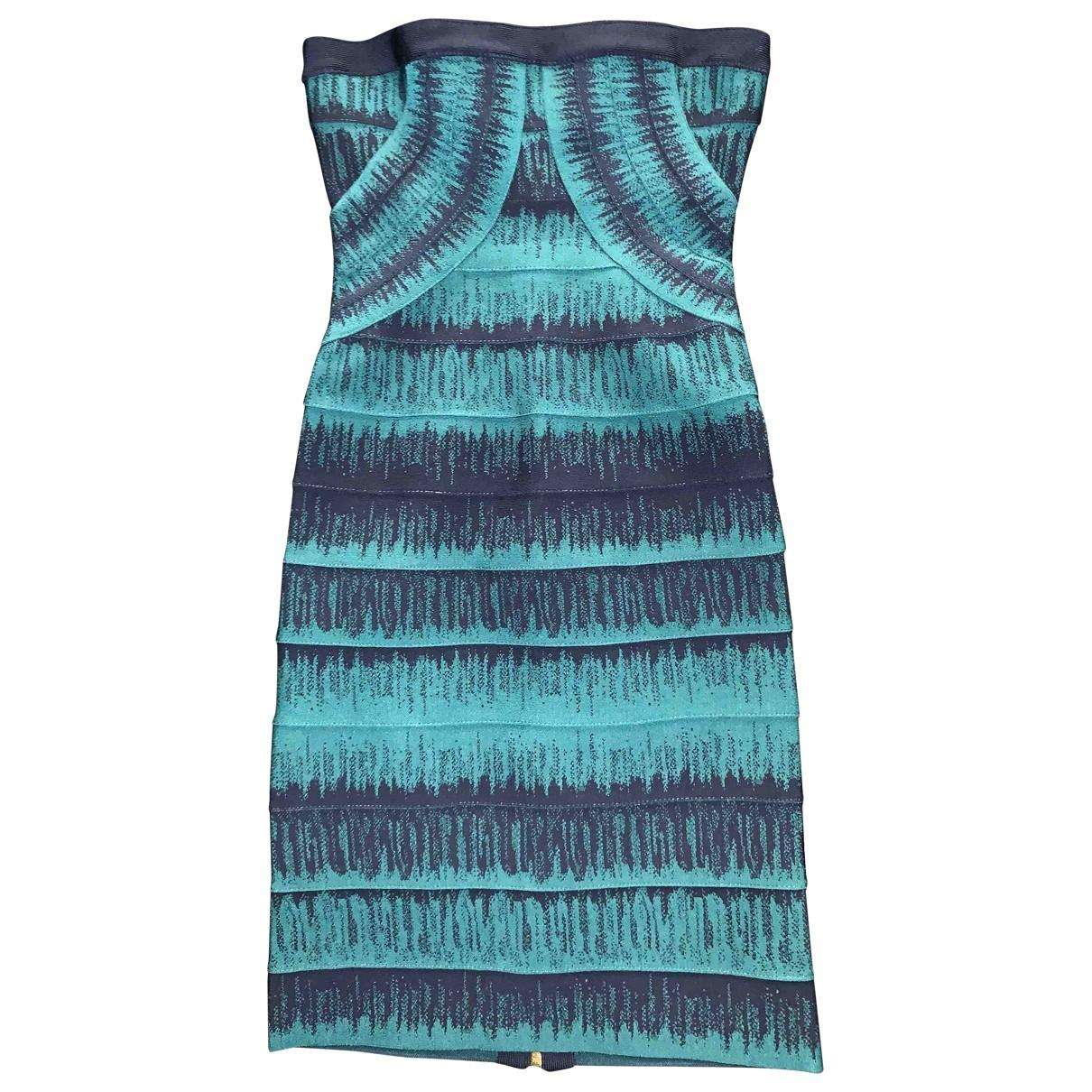Herve Leger - Robe   pour femme - bleu