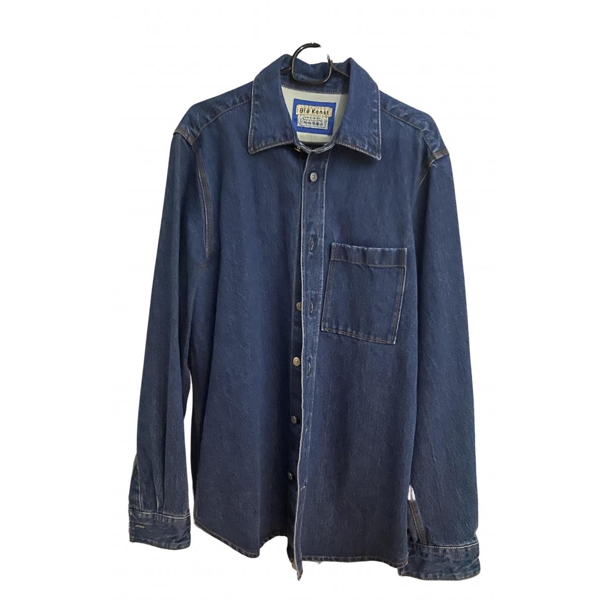 Acne Studios \N Blue Denim - Jeans Shirts for Men 46 IT
