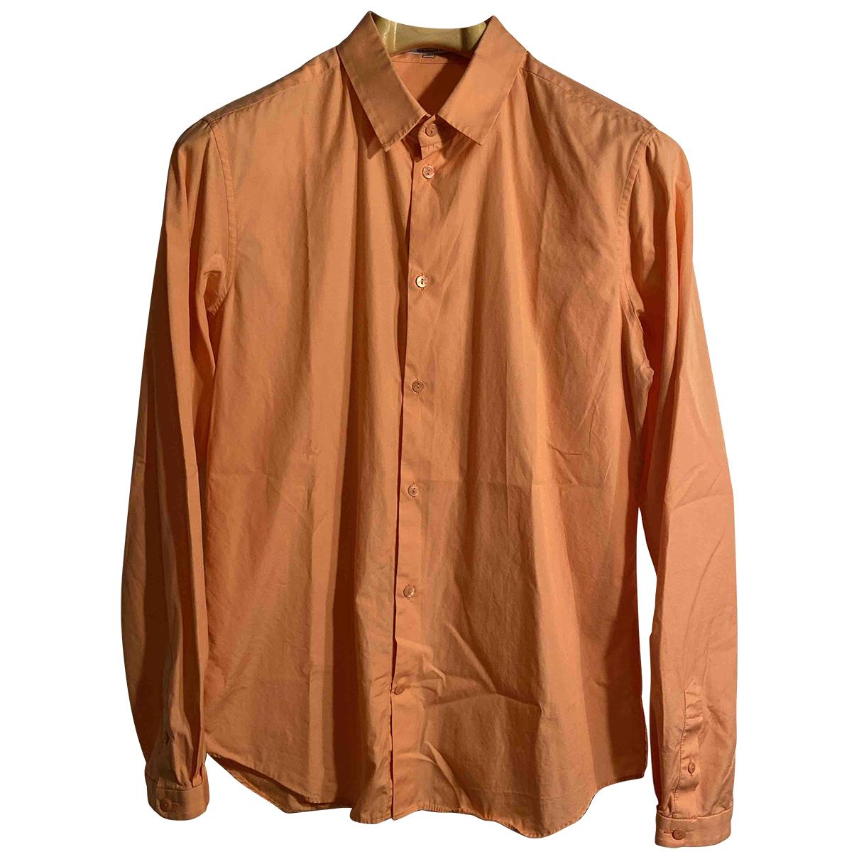 Carven - Chemises   pour homme en coton - orange