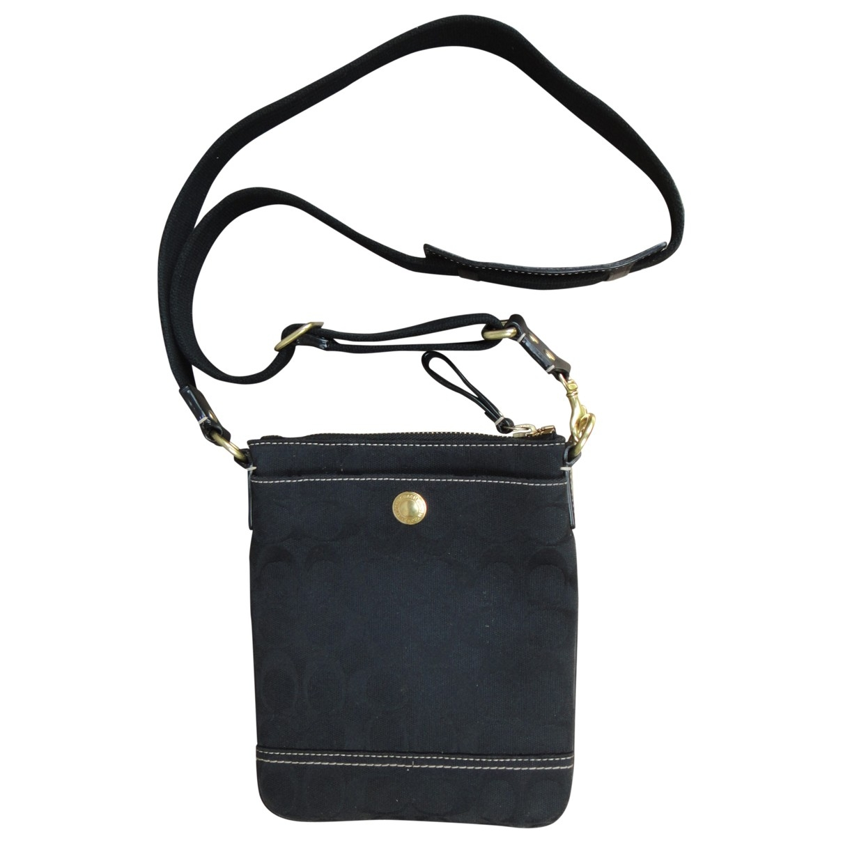 Coach \N Black Cloth handbag for Women \N