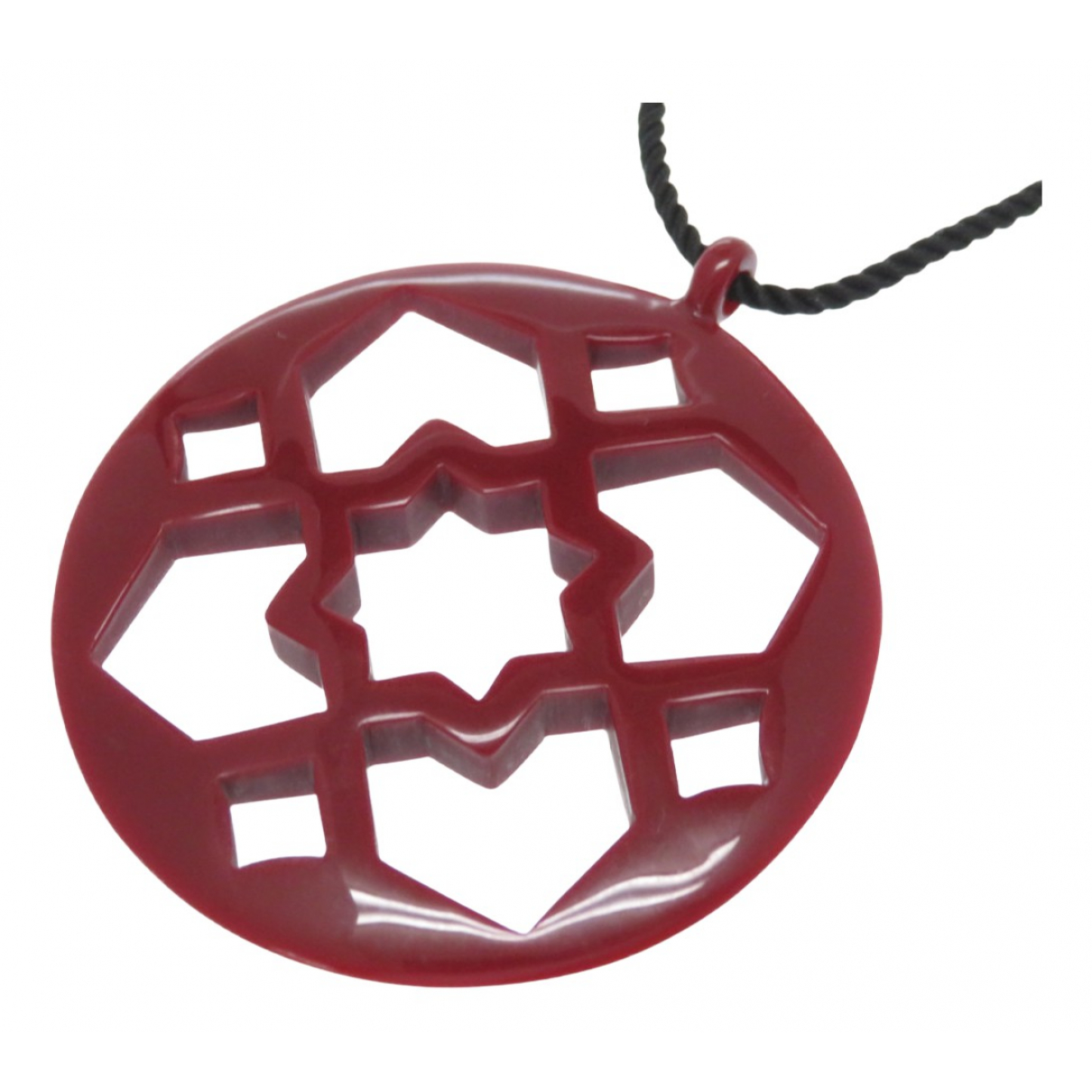 Tiffany & Co \N Red Ceramic necklace for Women \N