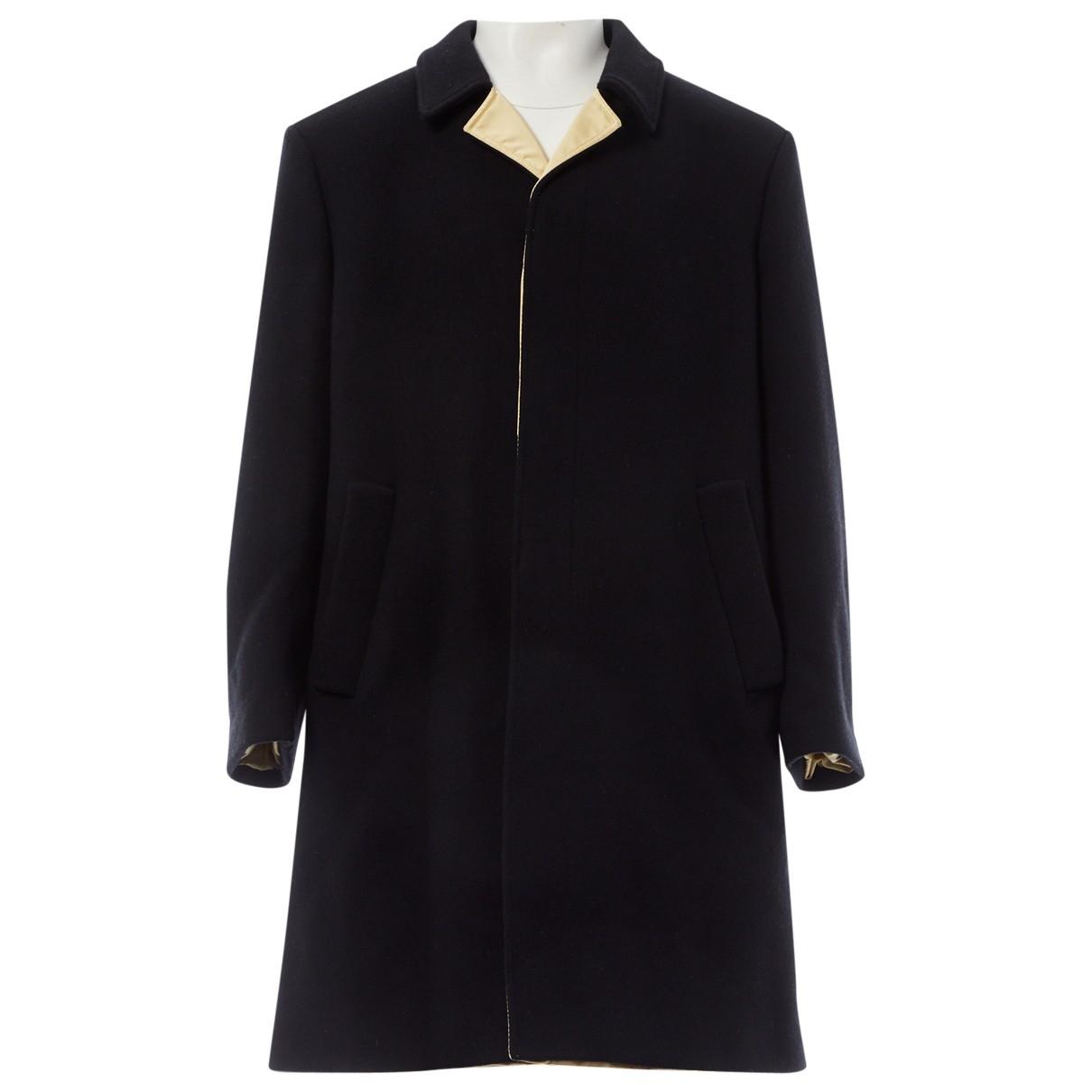 Raf Simons \N Black Wool coat  for Men 48 IT