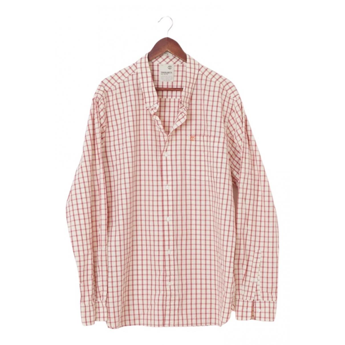 Timberland - Chemises   pour homme en coton - blanc
