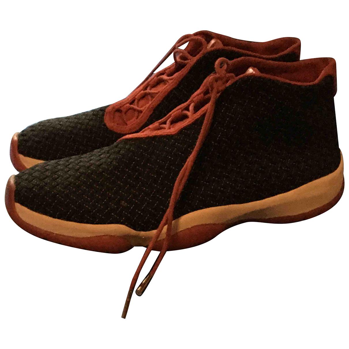 Jordan - Baskets Air Jordan Future pour homme en toile - noir