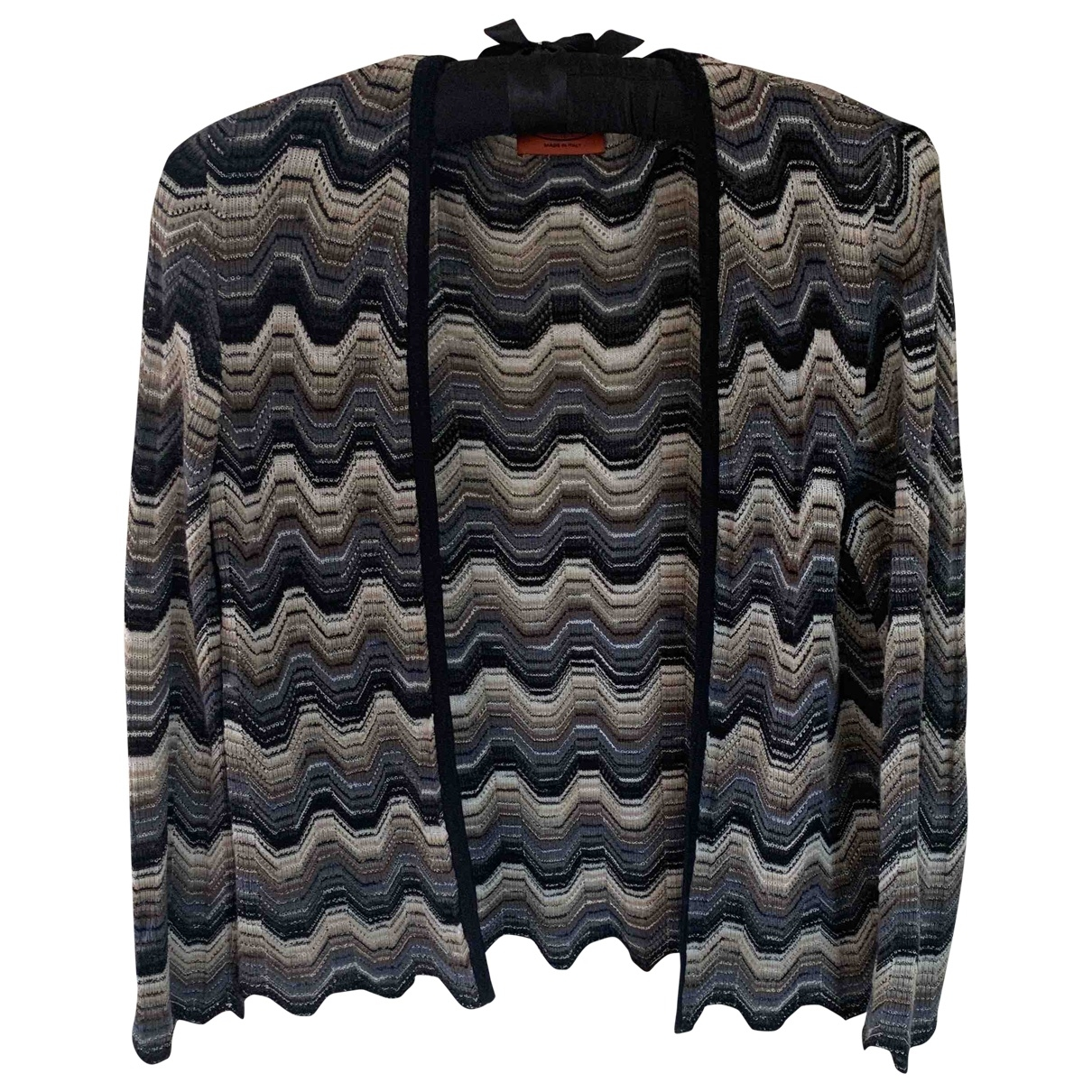 Missoni - Pull   pour femme en laine - noir
