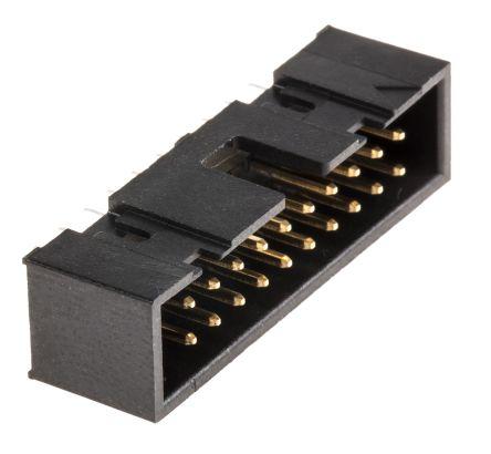 Hirose , HIF3FC, 20 Way, 2 Row, Straight PCB Header