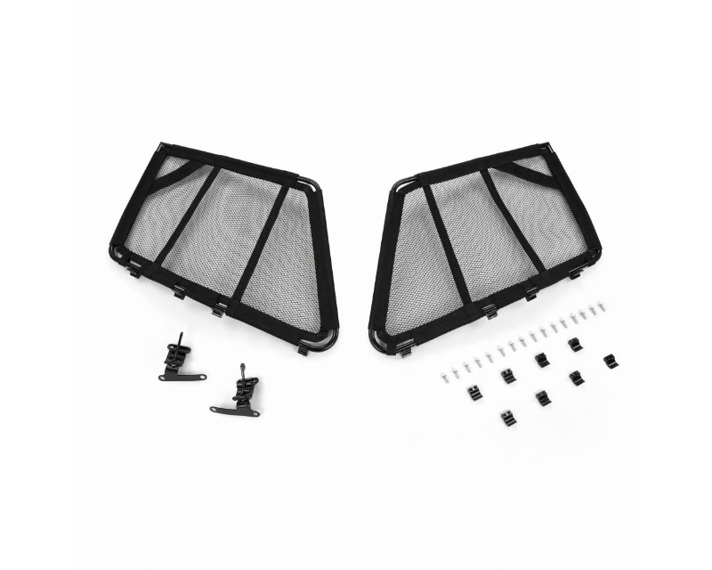 Cognito RZR Front Window Net Kit For 4 Seat Cage And Door Kit For 14-20 Polaris RZR XP