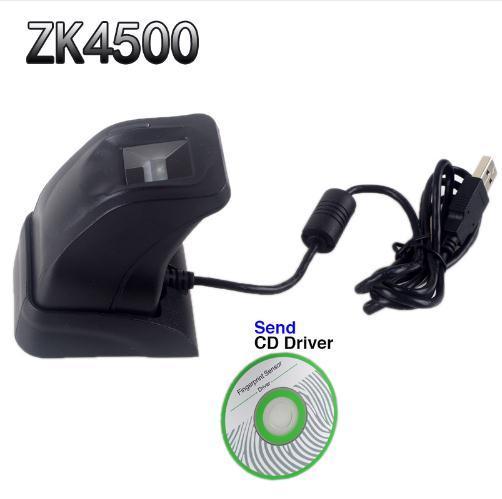 ZK4500 USB Fingerprint Reader Sensor for Computer PC Home/Office Free SDK Capturing Reader Fingerprint Scanner