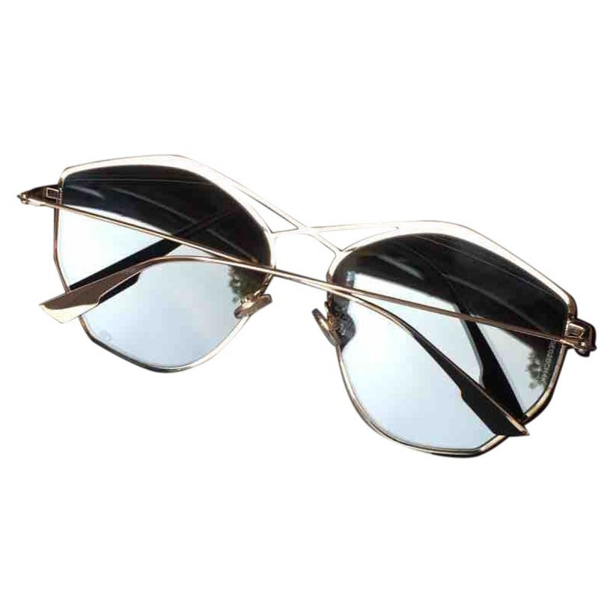 Dior \N Metal Sunglasses for Women \N