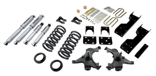 Belltech 693SP 4-5inch Front 6inch Rear Lowering Kit w/ SP Shocks Chevrolet Silverado | GMC Sierra C1500 Ext Cab 1988-1998