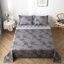 Flache Decke mit Blumen Muster