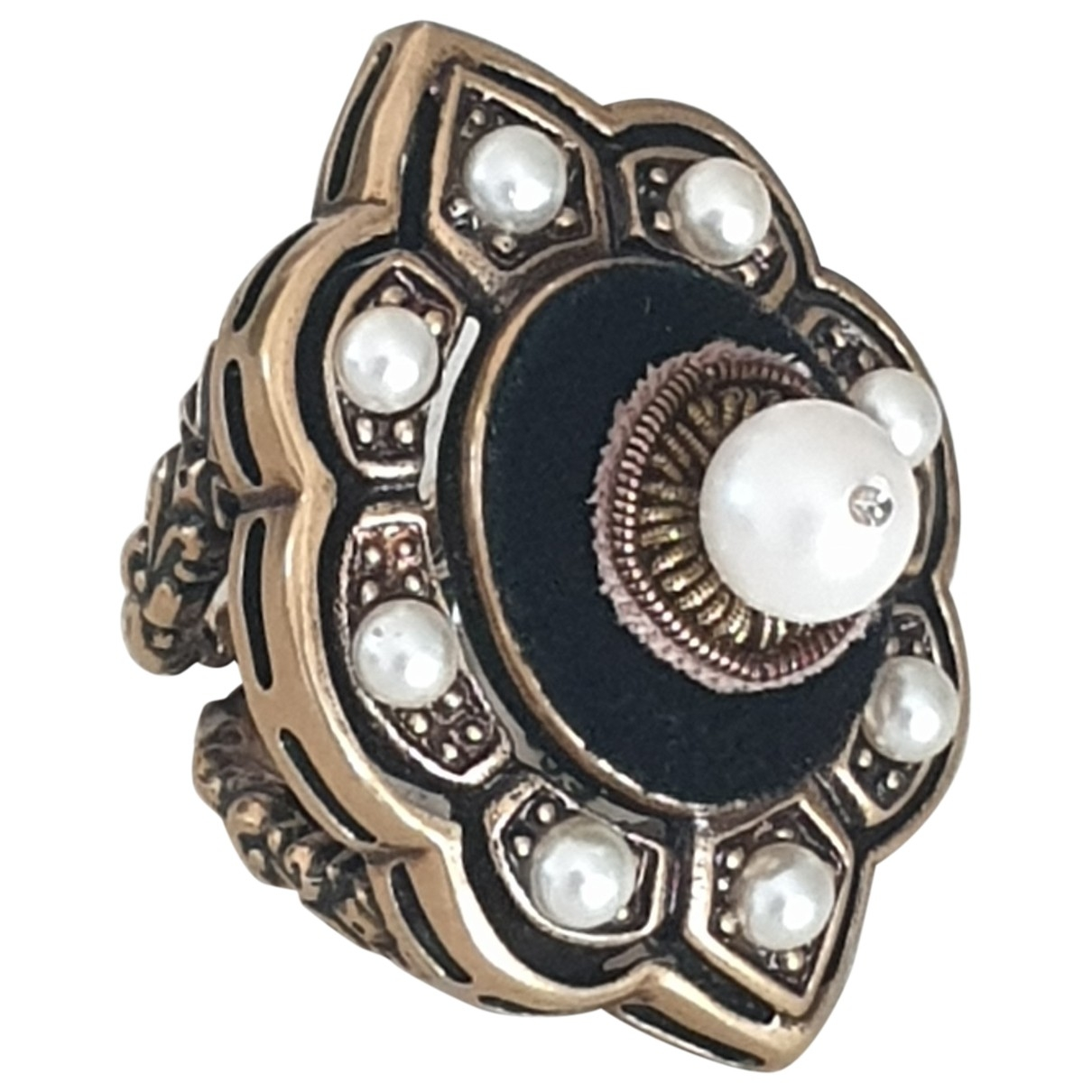 Gucci \N Ring in  Bunt Metall