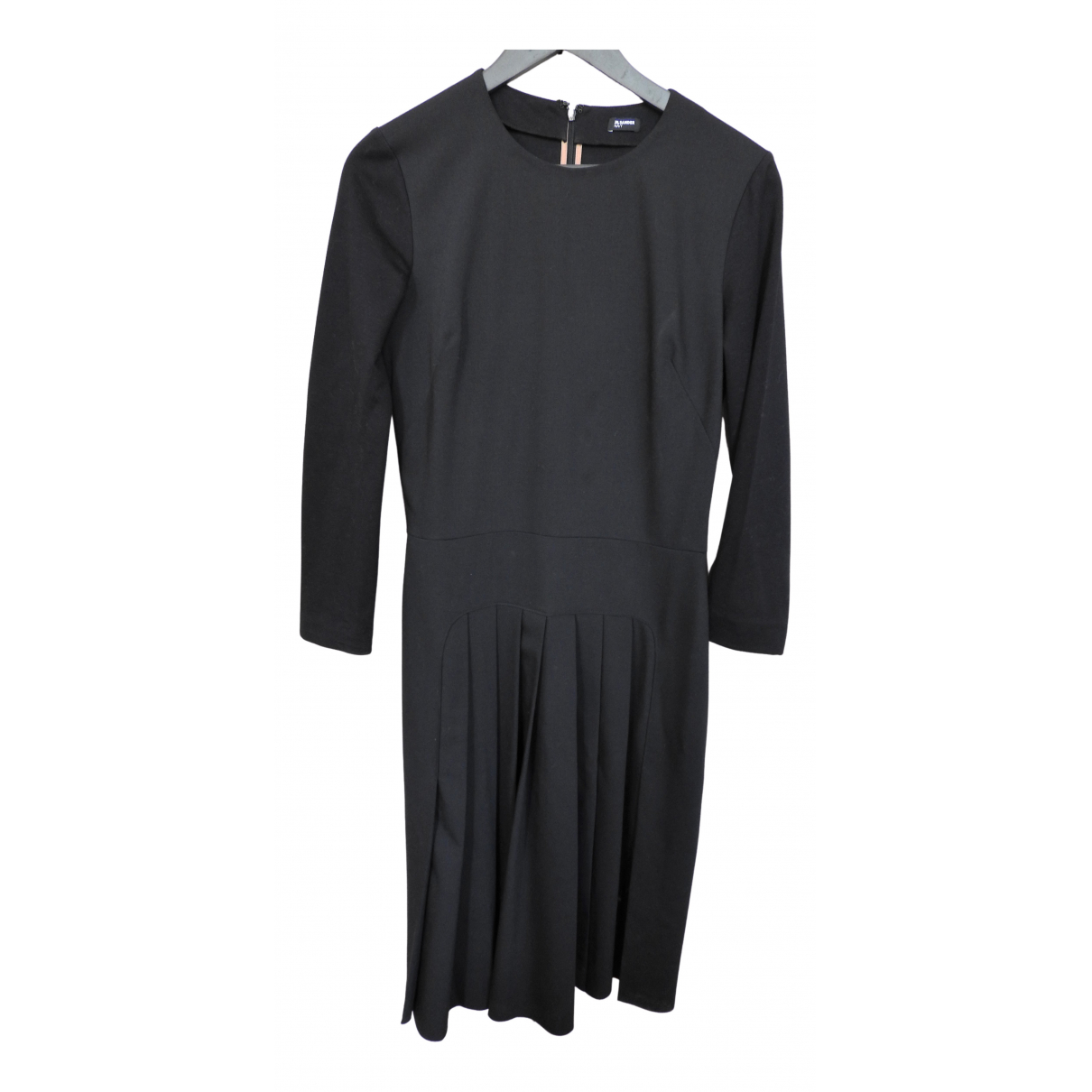 Jil Sander N Navy Wool dress for Women 40 FR
