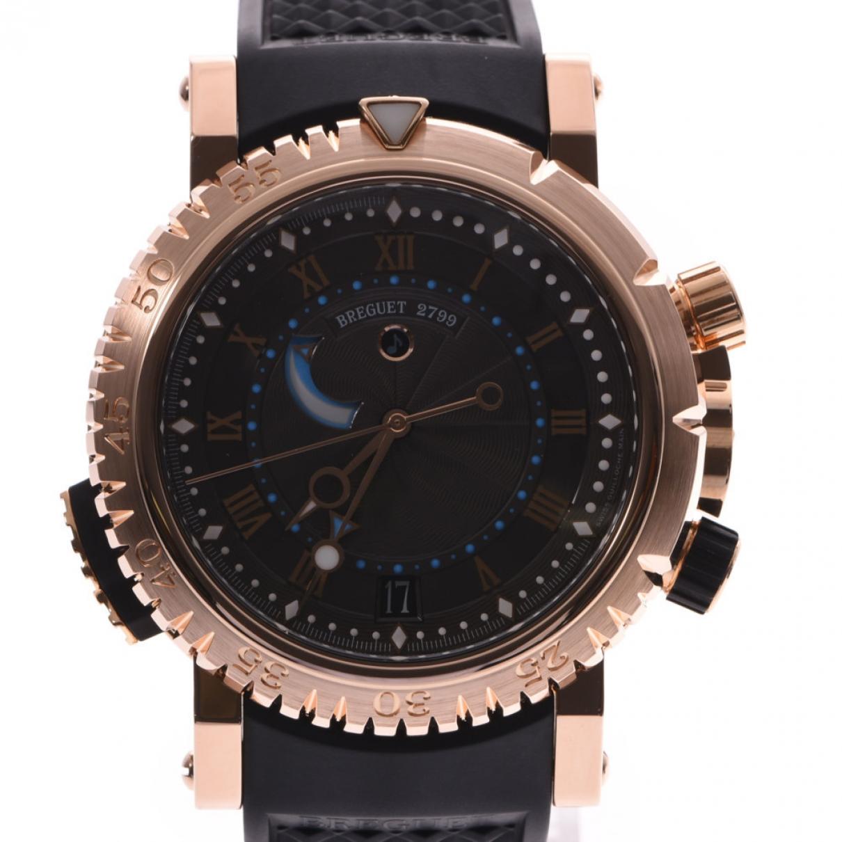 Breguet \N Uhr in  Silber Rosegold